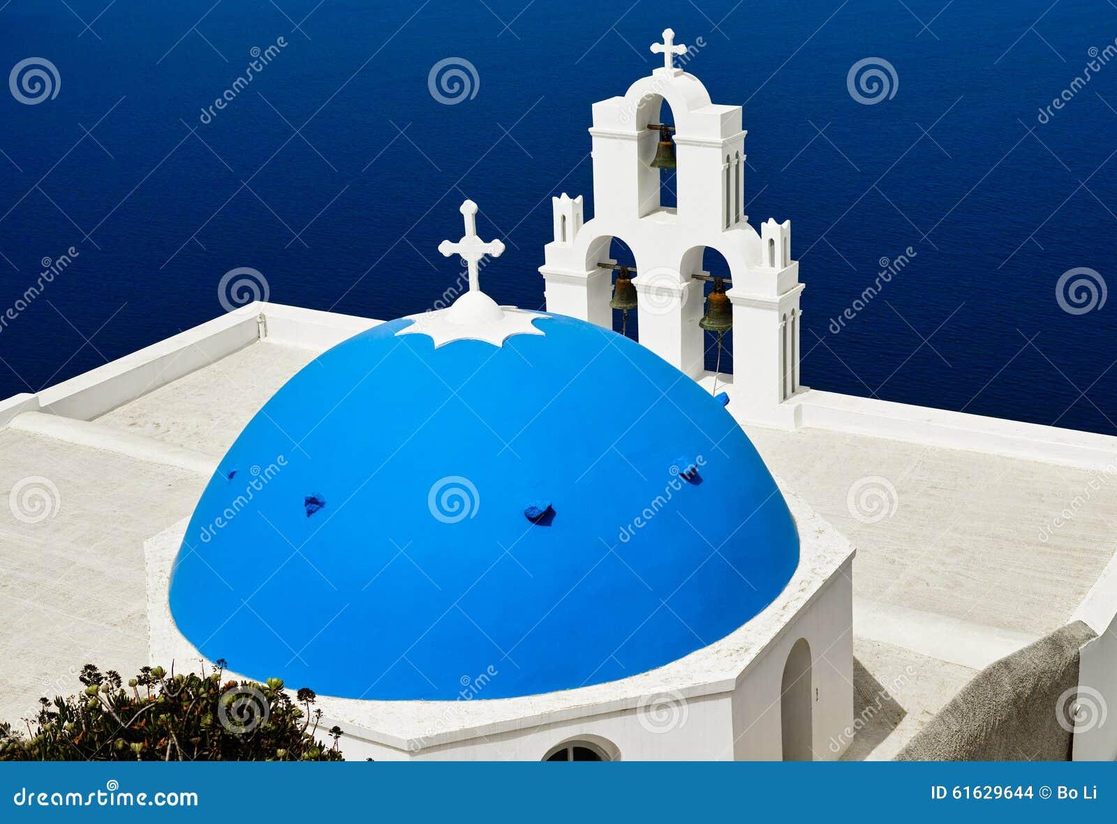 Igreja azul da abóbada