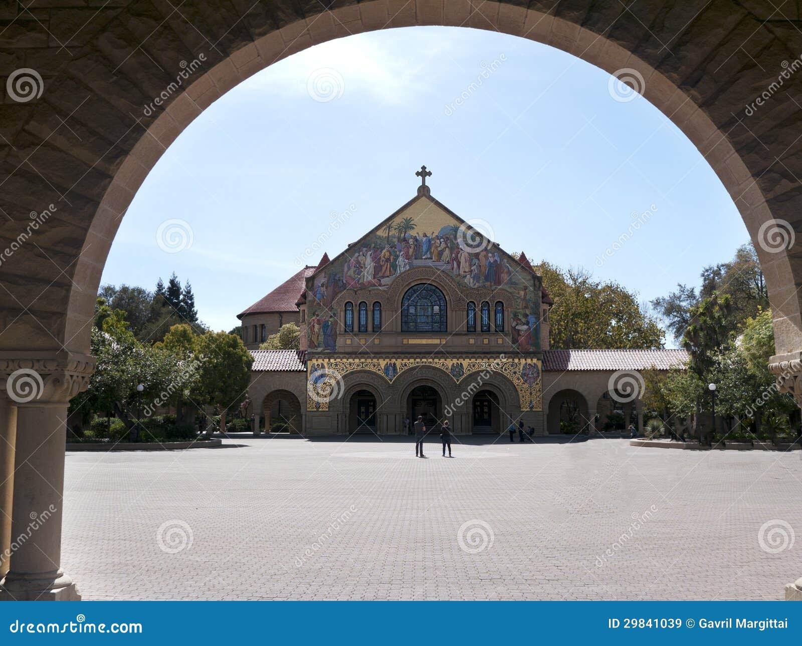 A igreja memorável em Stanford