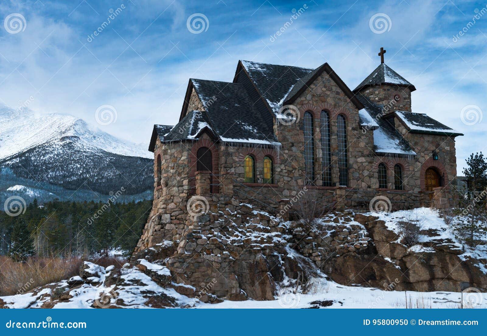Igreja católica da montanha