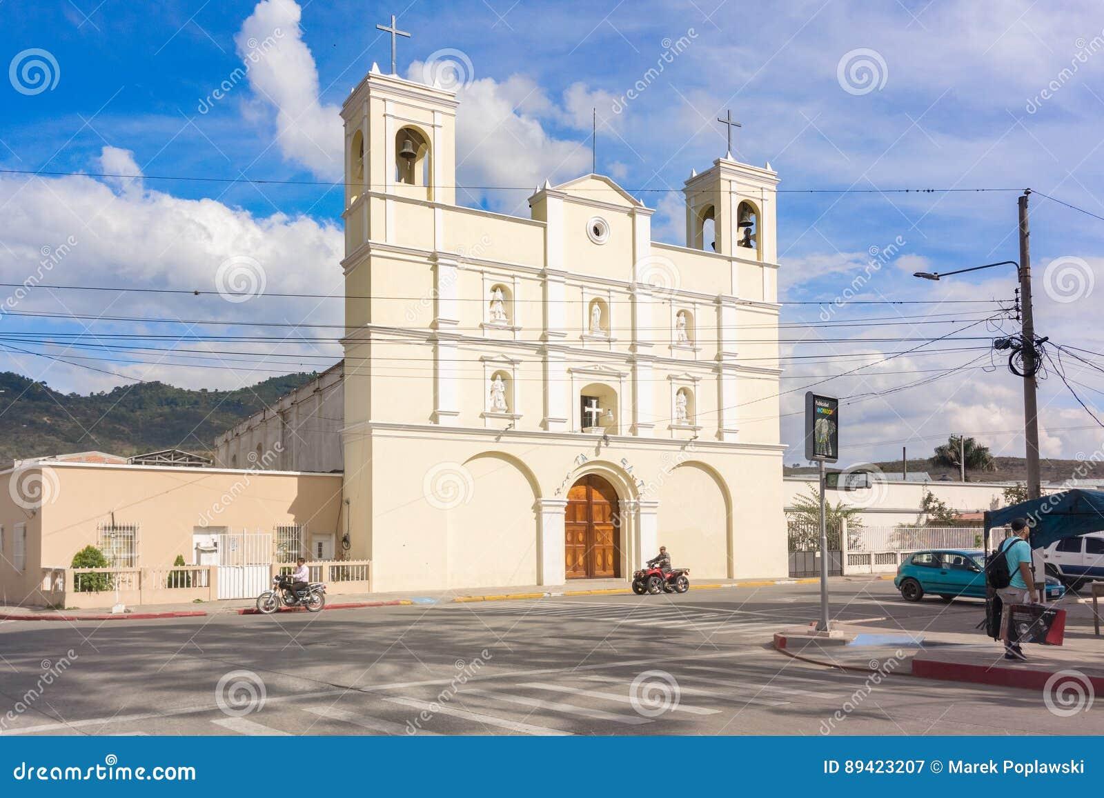 Igreja Católica em Jalapa, Guatemala