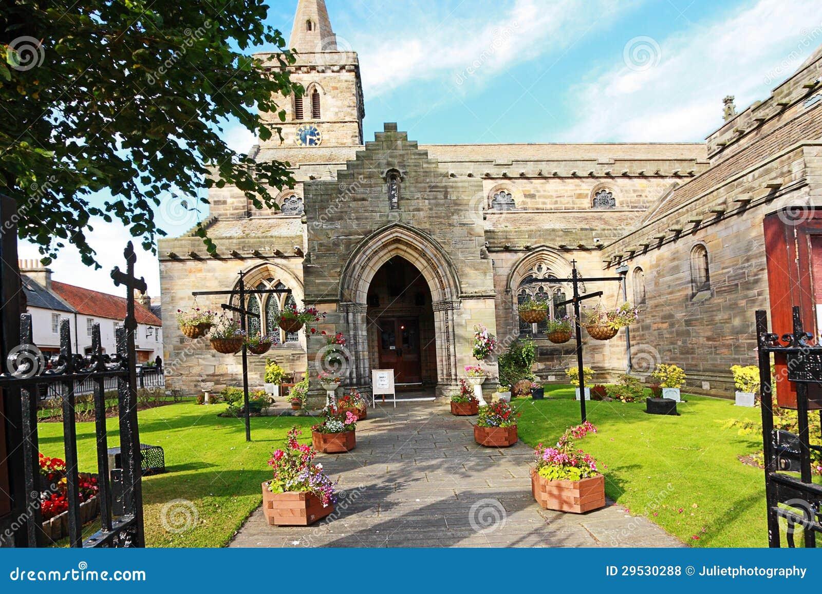 Igreja cristã velha em St Andrews, Scotland