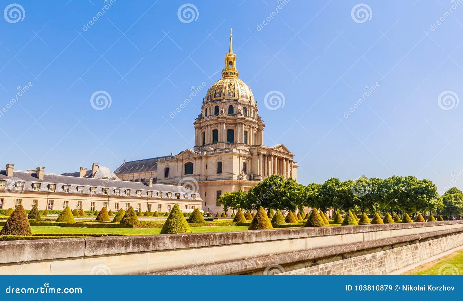 A igreja da casa de desabilitou, Paris