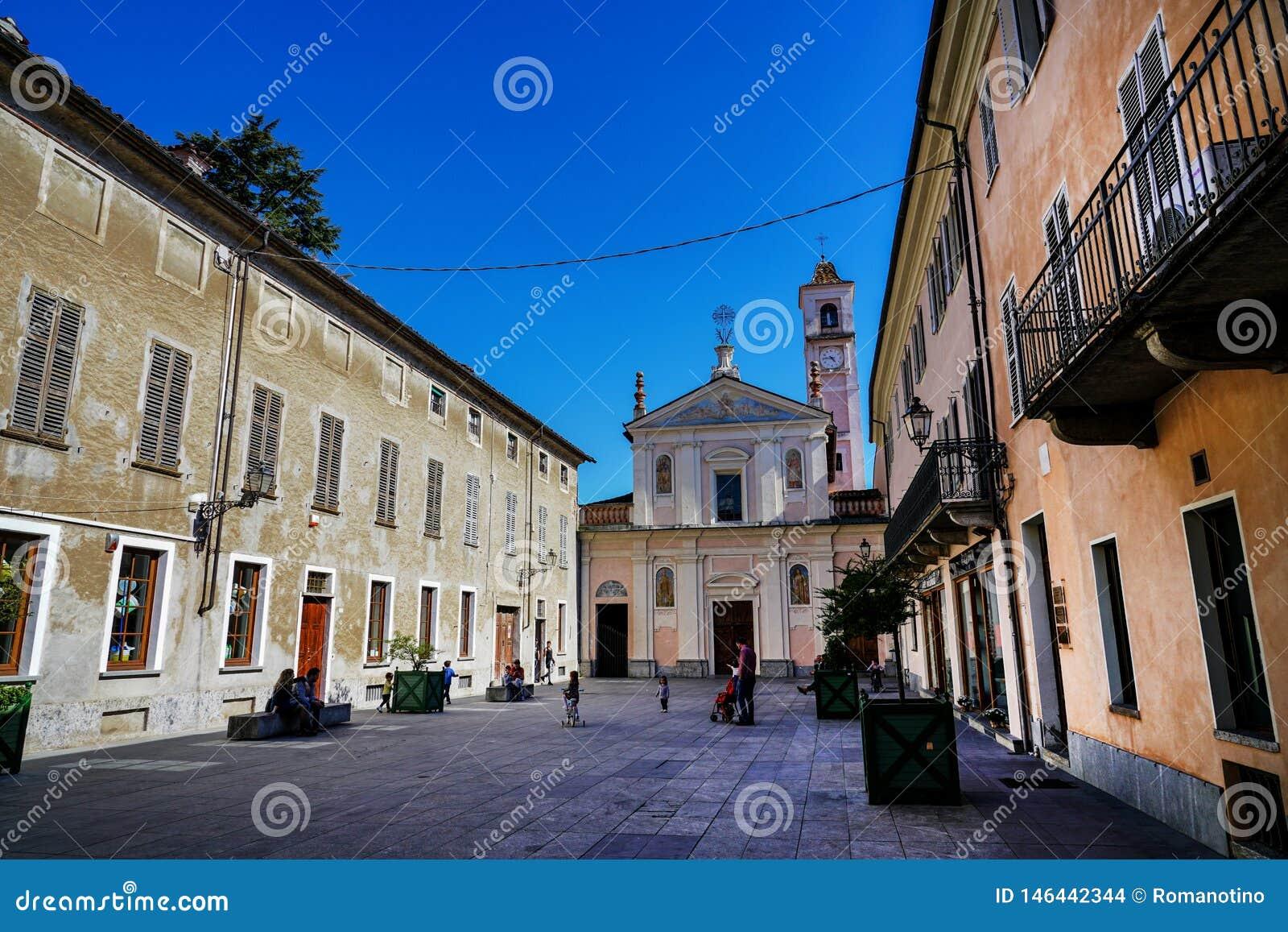 Igreja da confraternidade de San Rocco e de San Carlo de Rivarolo