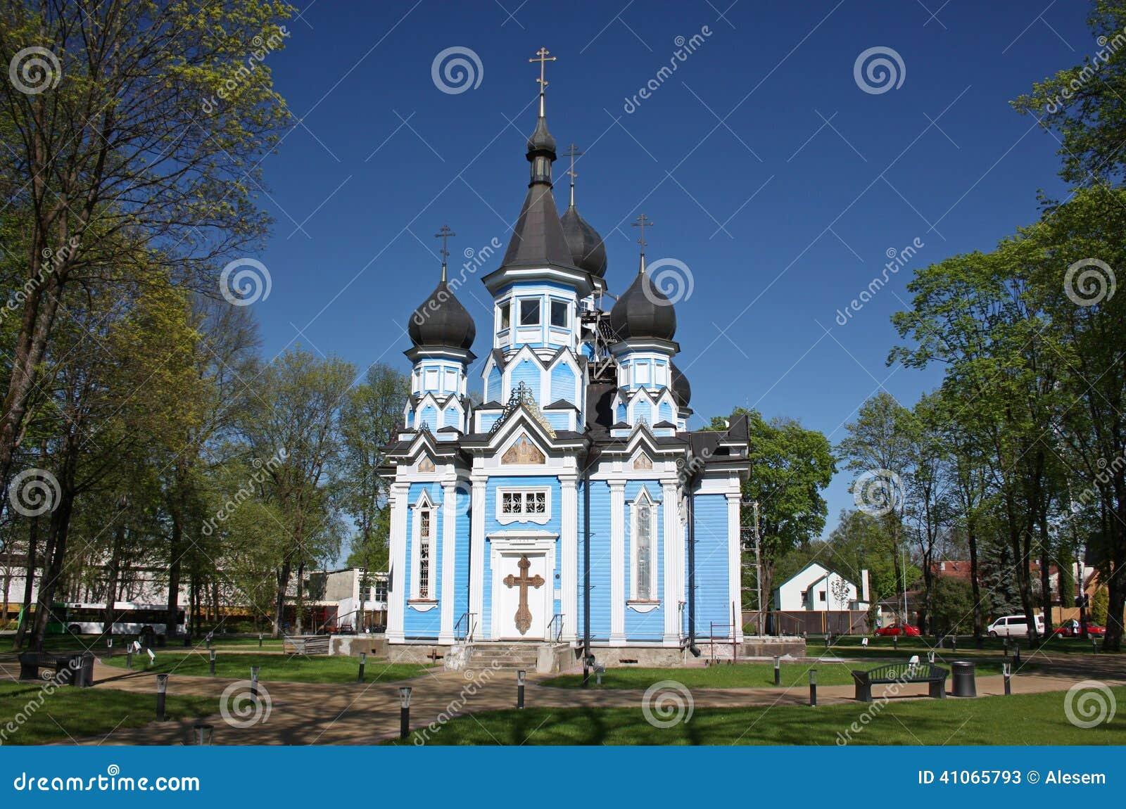 Igreja da mãe do ícone do deus Druskininkai, Lituânia