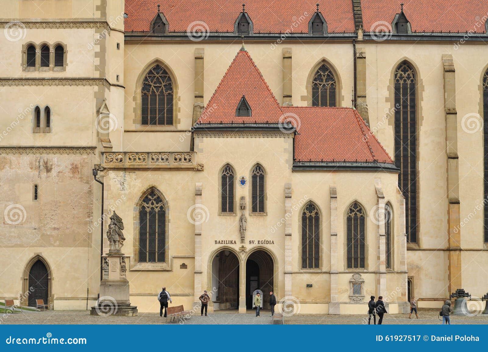 Igreja de Bardejov (basílica) de St Gilles
