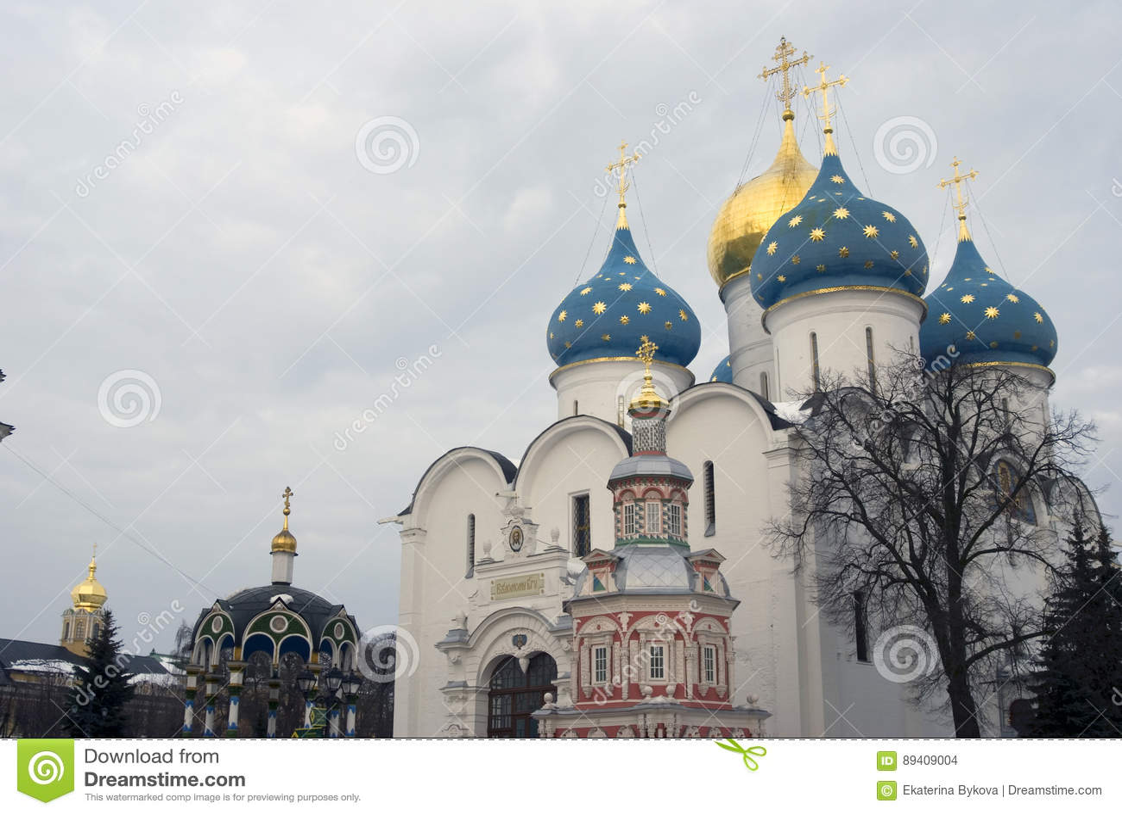 Igreja de Dormition da trindade Sergius Lavra
