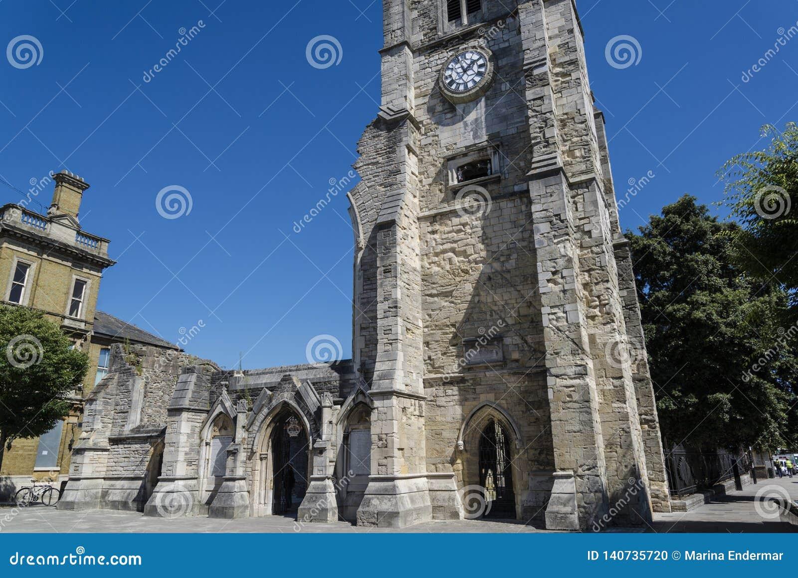 Igreja de Holyrood, Southampton, Hampshire, Inglaterra, Reino Unido
