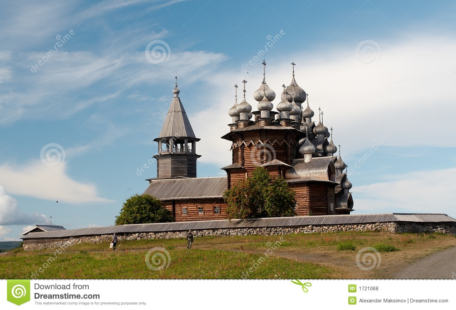 Igreja de madeira velha