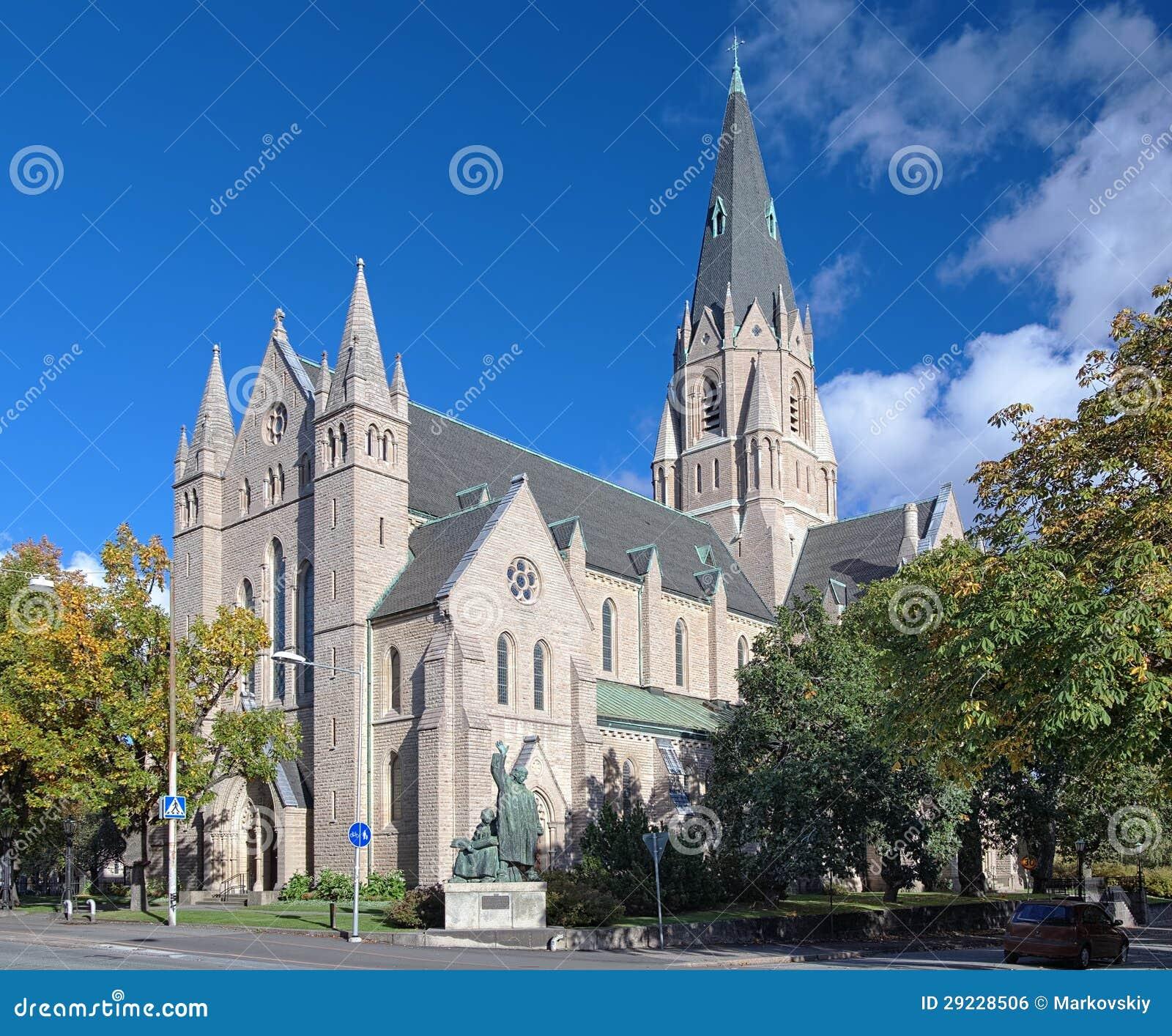 Download Igreja De Olaus Petri Em Orebro, Sweden Foto de Stock - Imagem de revival, nordic: 29228506