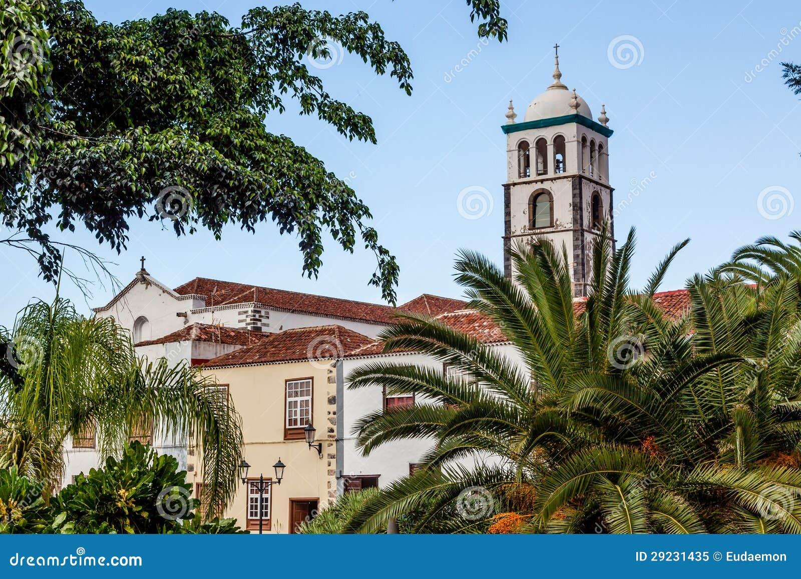 Download Igreja De Santa Ana. Garachico, Tenerife. Imagem de Stock - Imagem de spain, cultura: 29231435