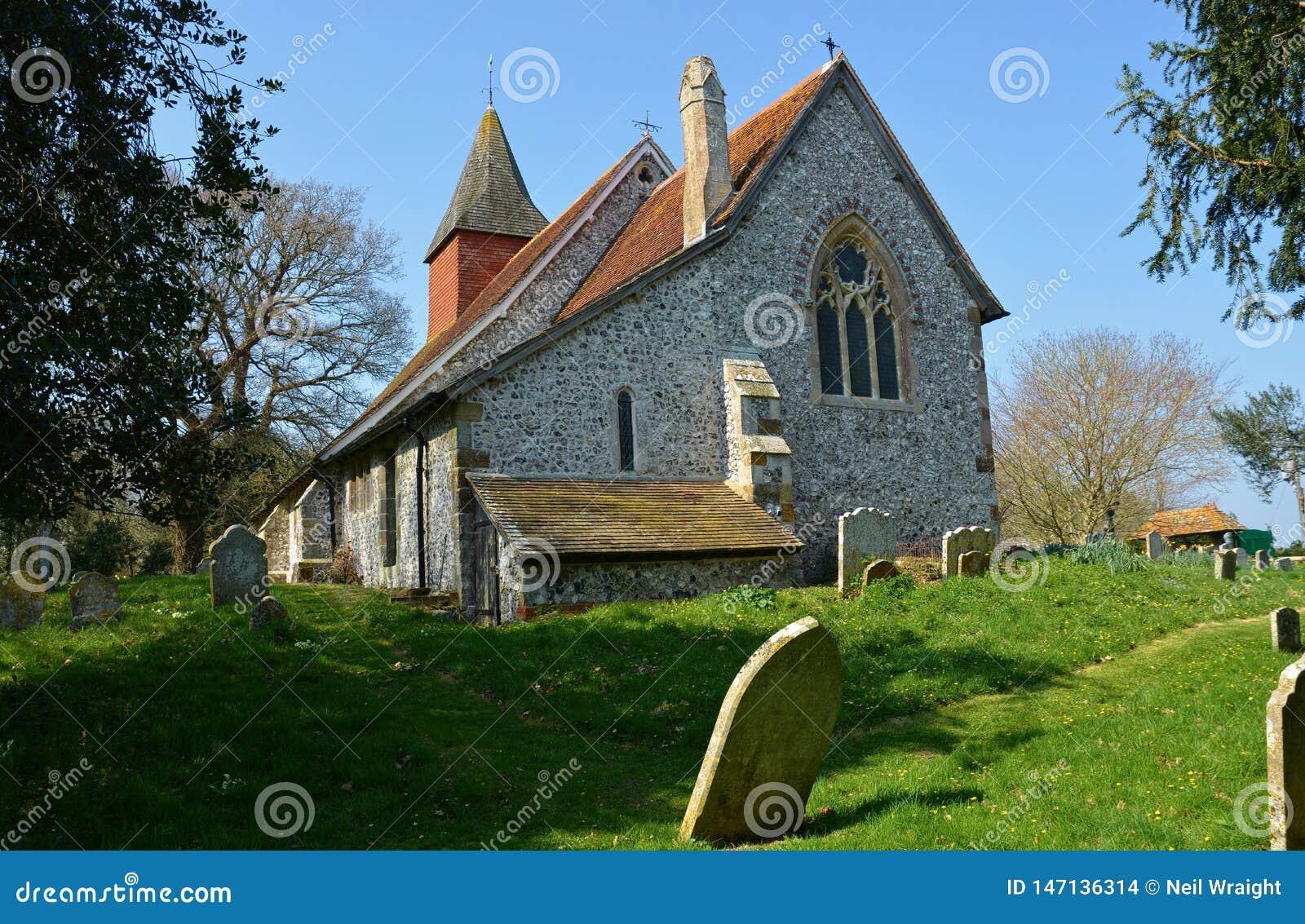 Igreja de Selmeston, Sussex, Reino Unido