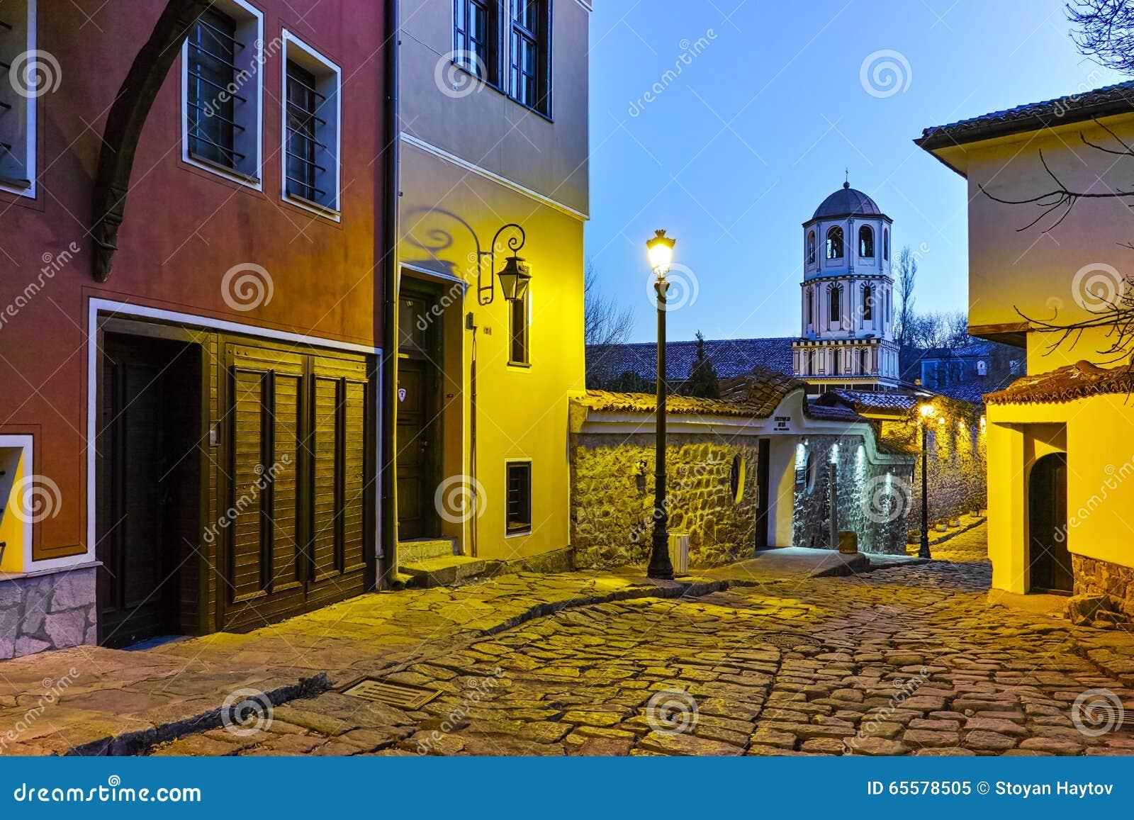 Igreja de St Constantim e St Helena na cidade velha da cidade de Plovdiv, Bulgária