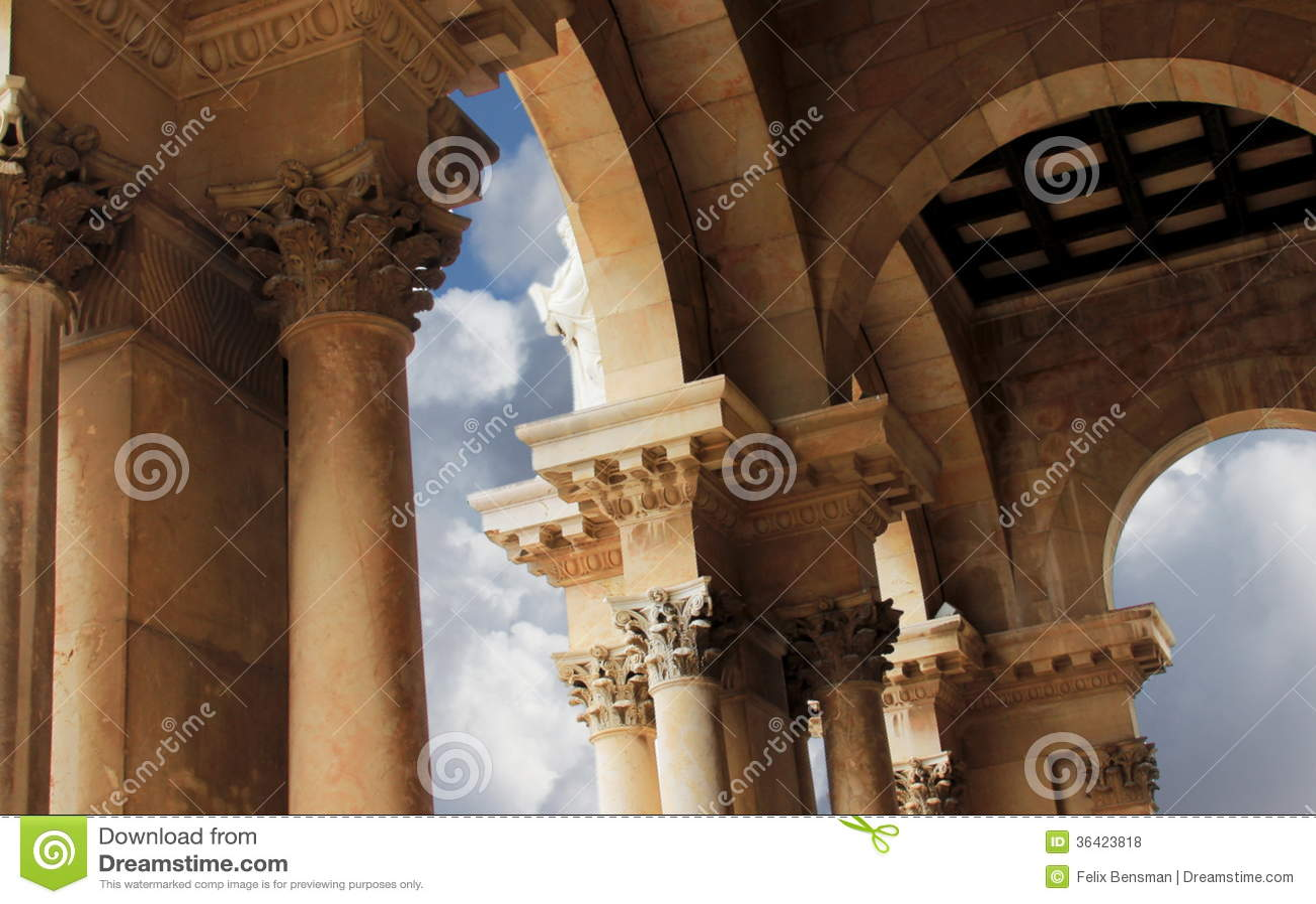 Igreja de todas as nações. Jerusalém. Israel