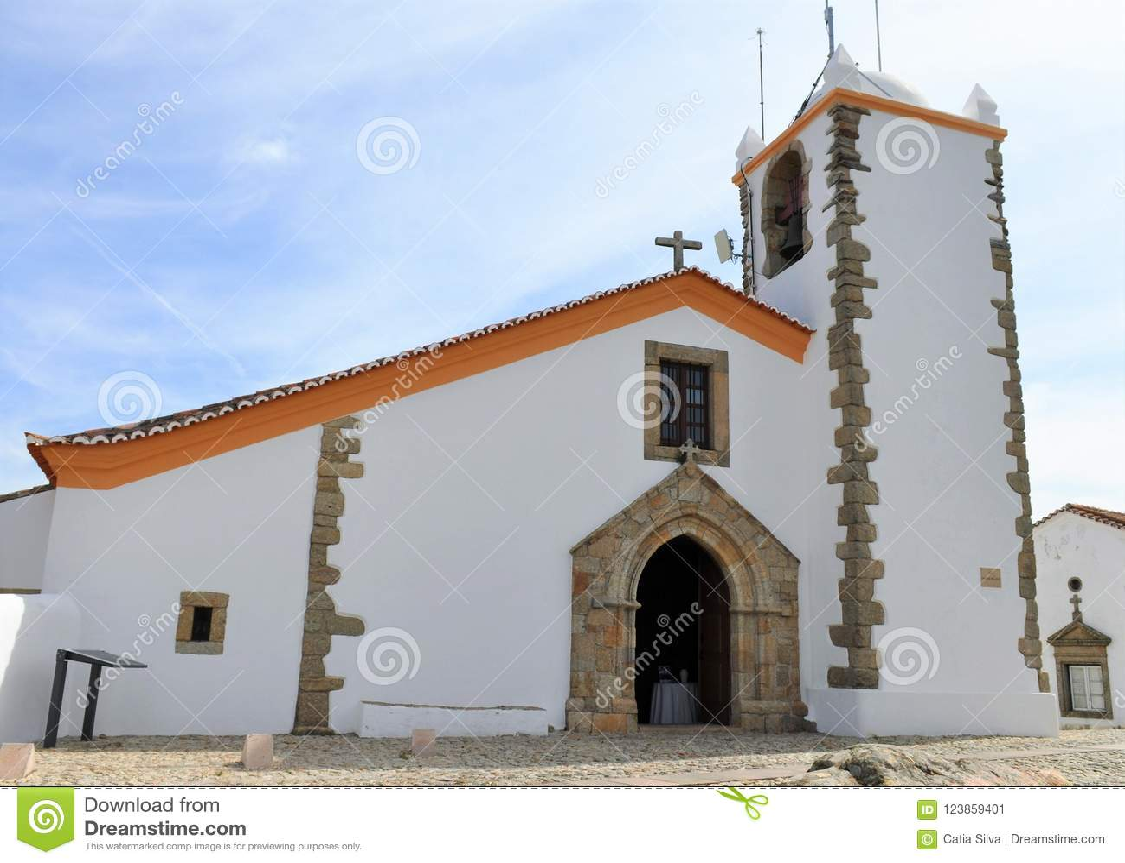 Igreja do Espírito Santo na manhã
