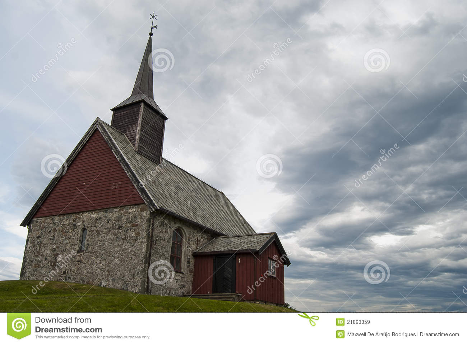 Igreja do mystic de Norwaigian