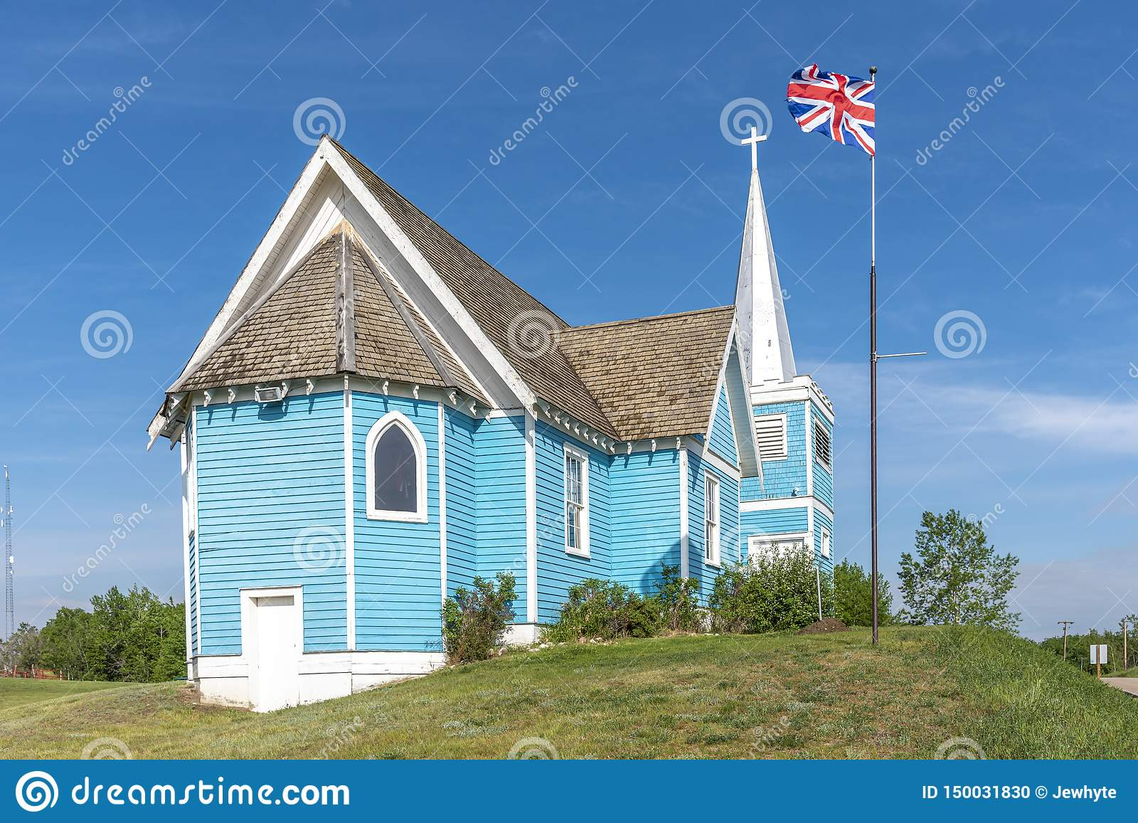 Igreja do St Edmund no vale grande, Alberta