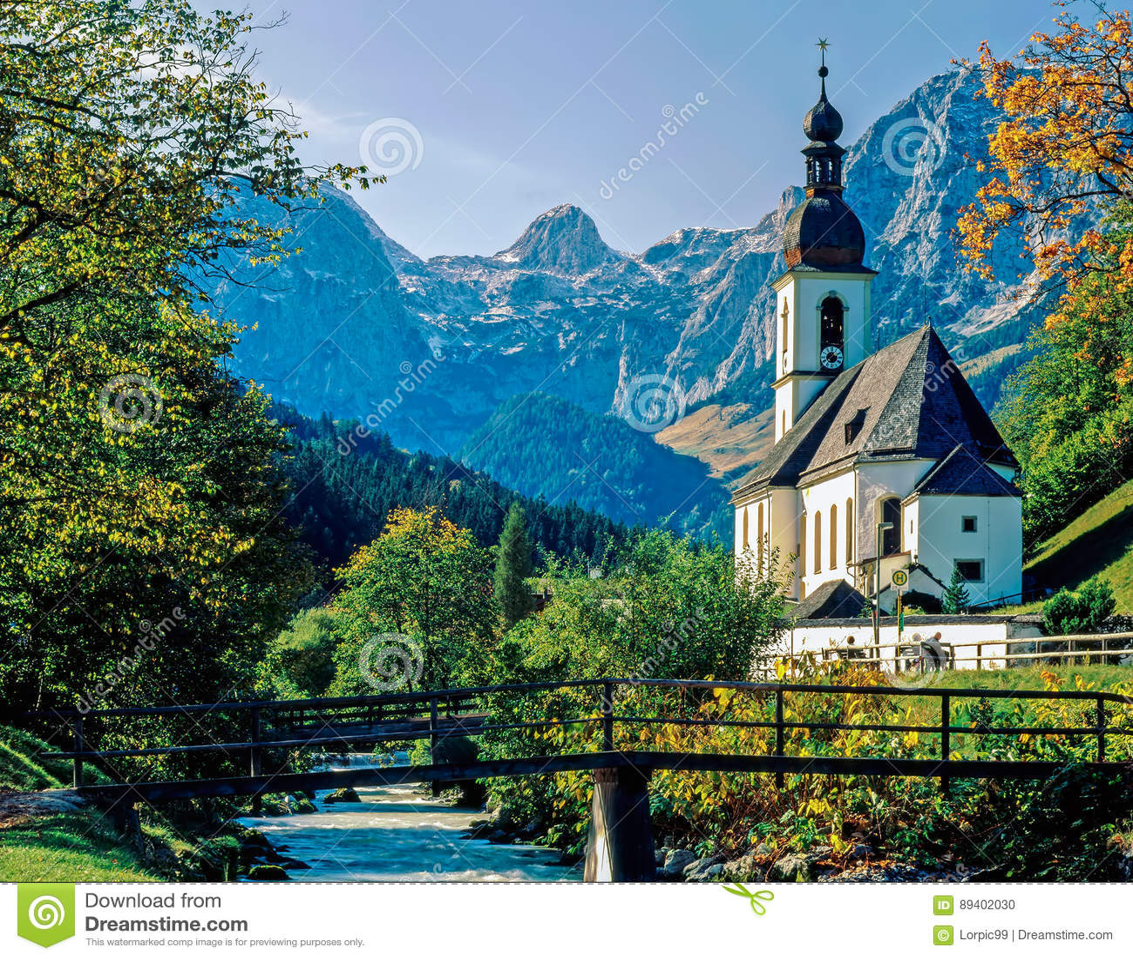 Igreja em Ramsau