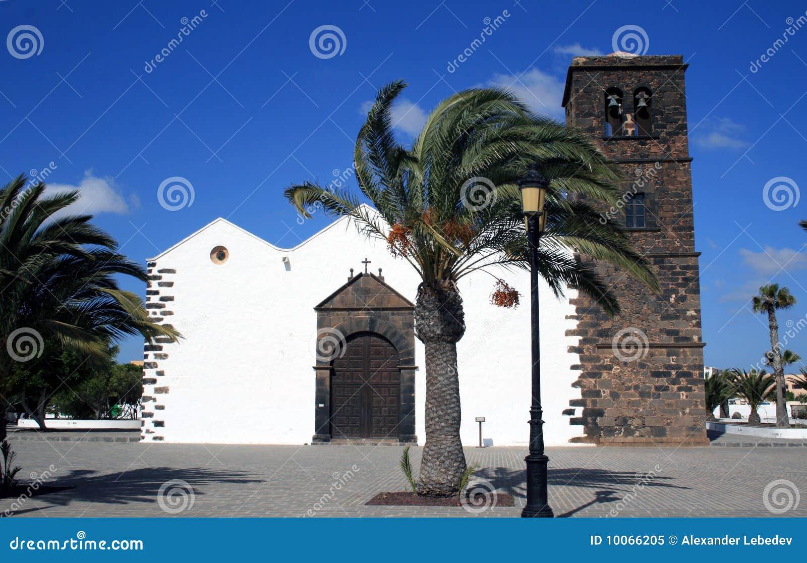 Igreja no La Oliva, Fuerteventura