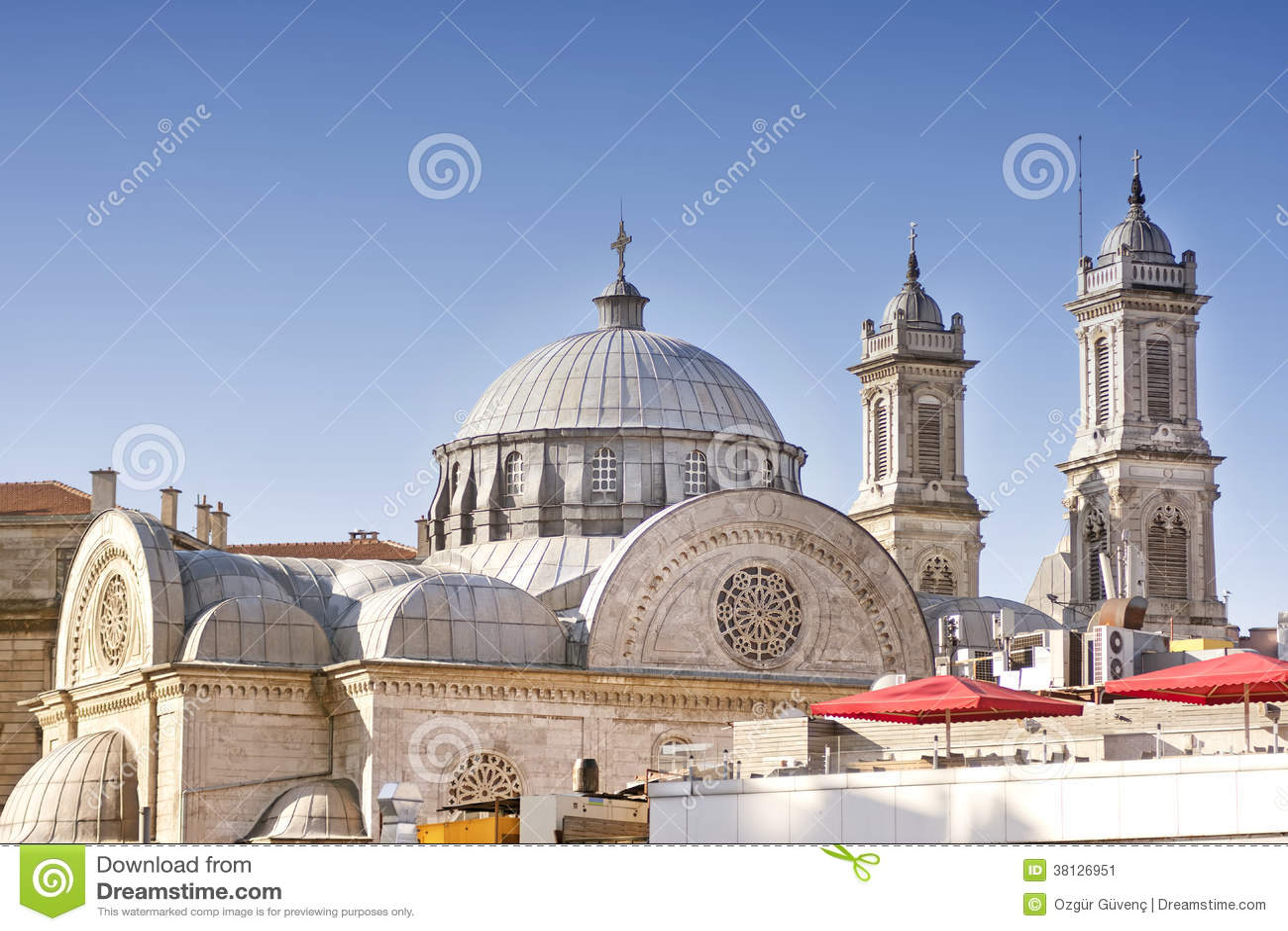 Igreja Ortodoxa Grega De Hagia Triada Istambul Turquia