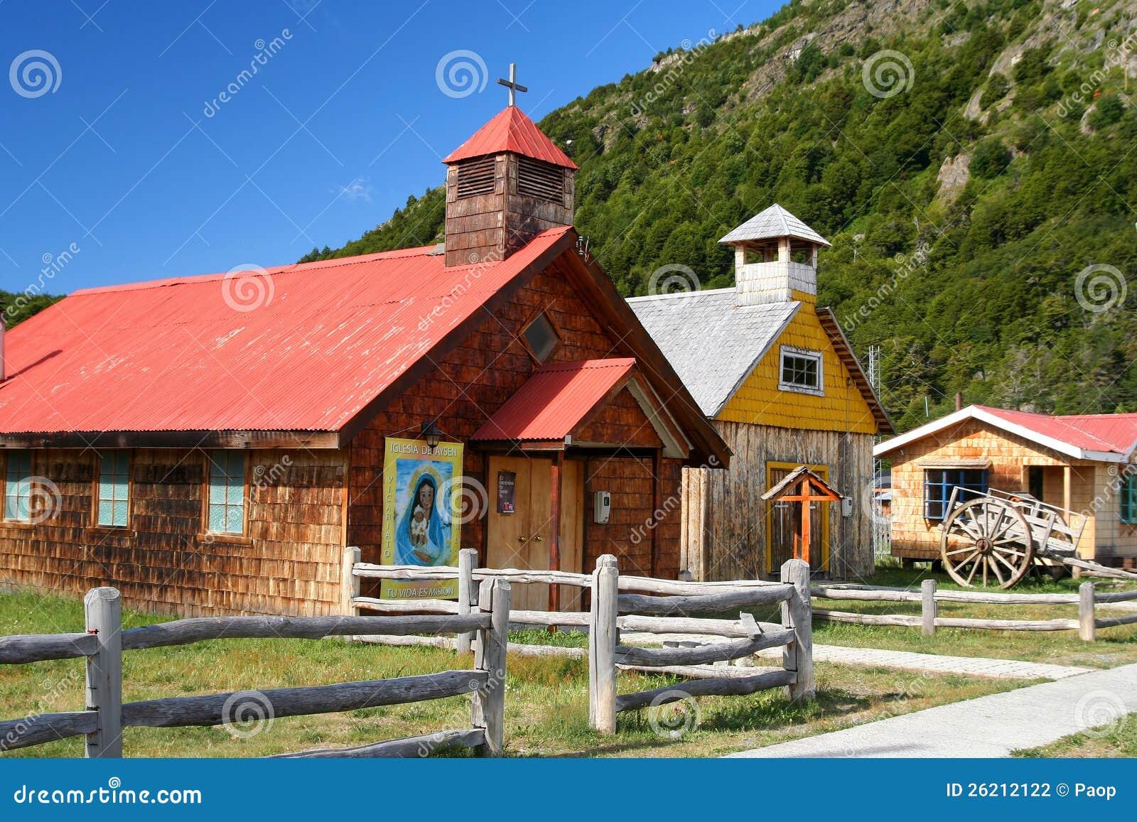 Igreja pequena velha