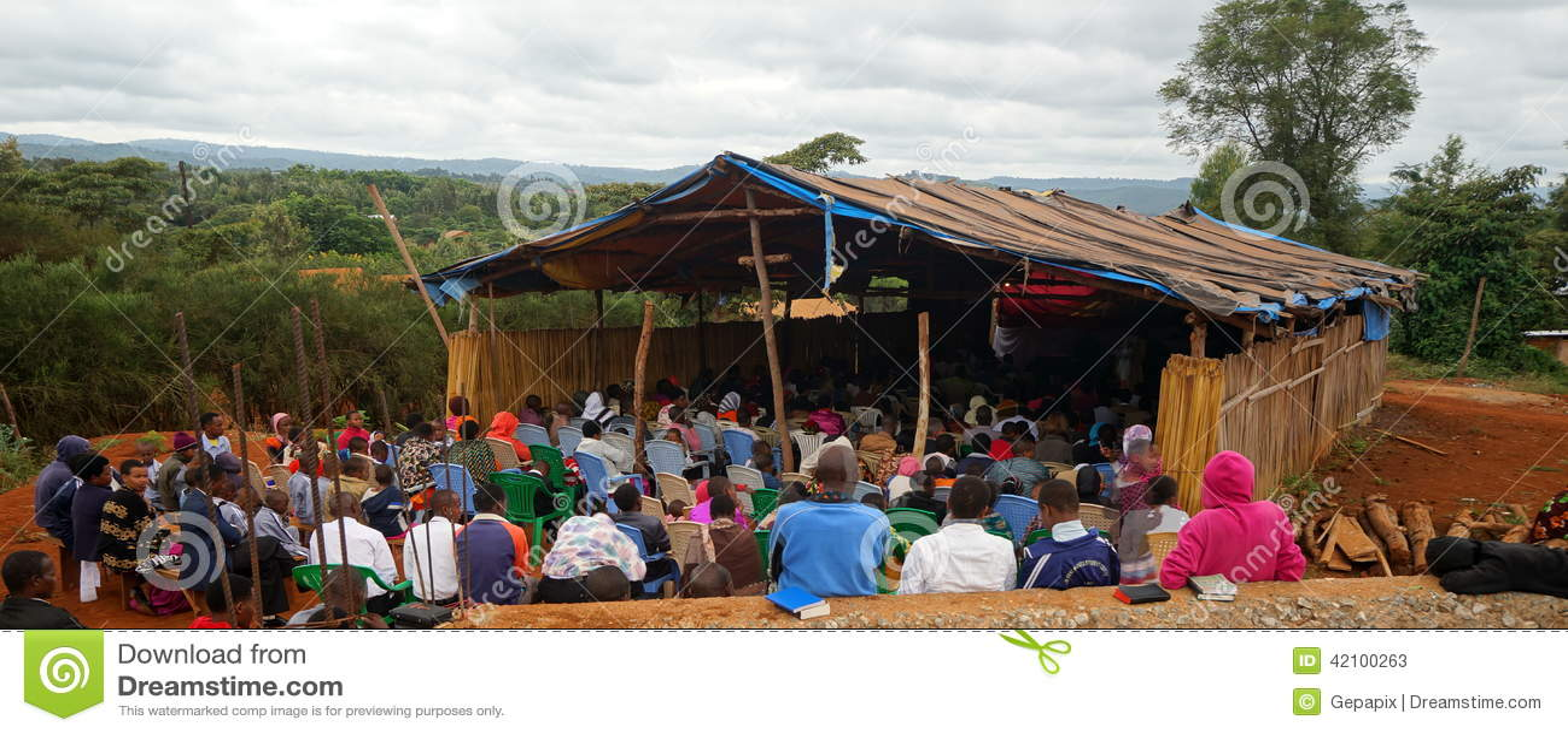 Igreja protestante em Tanzânia