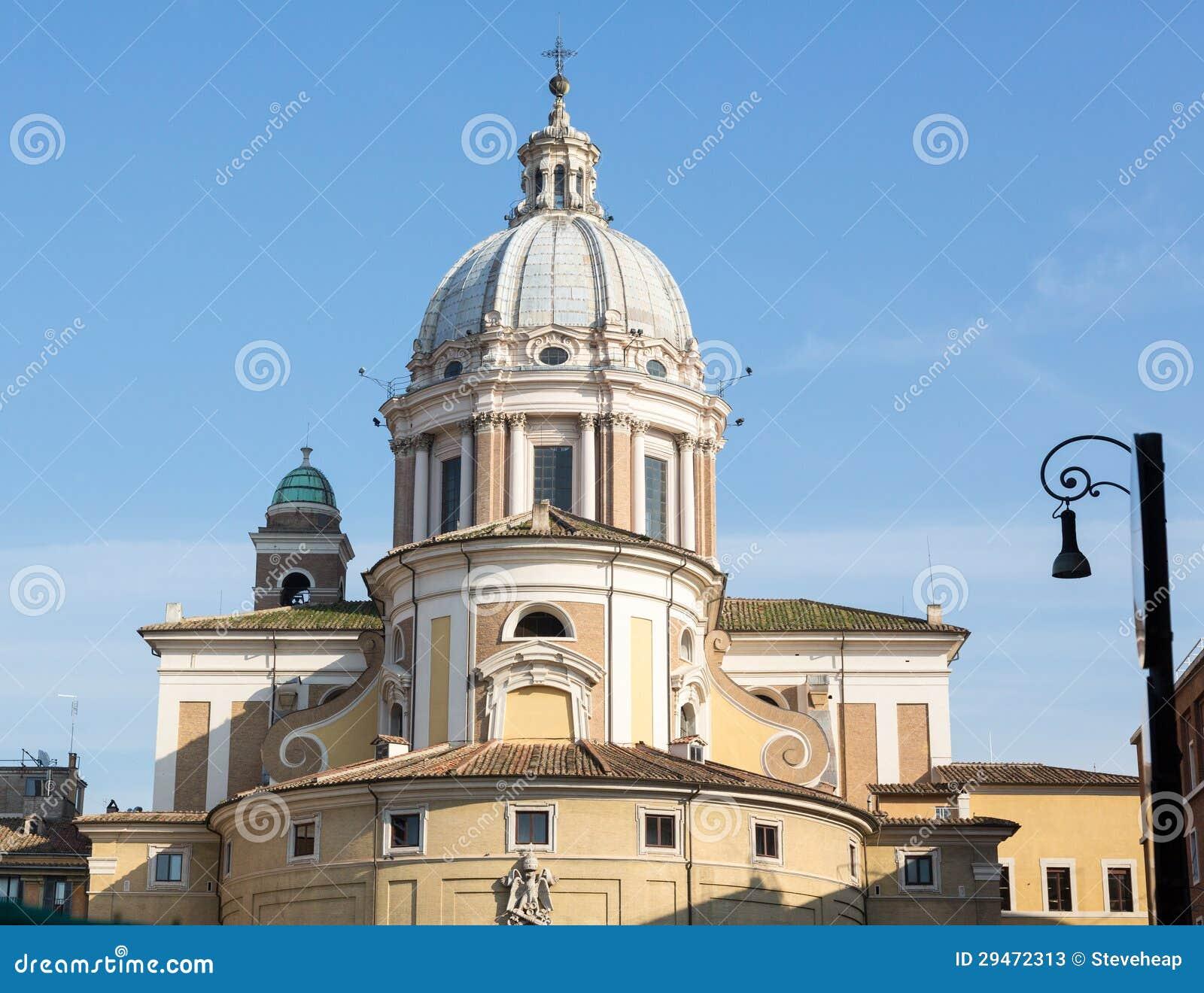 Igreja roma de corso do al de san carlo fotos de stock for Corso grafica roma