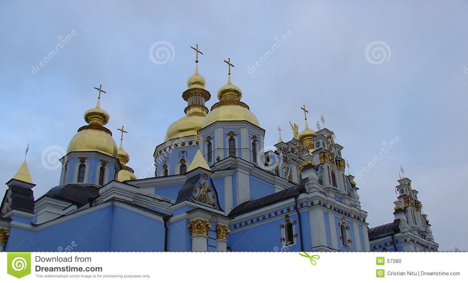 Igreja russian azul