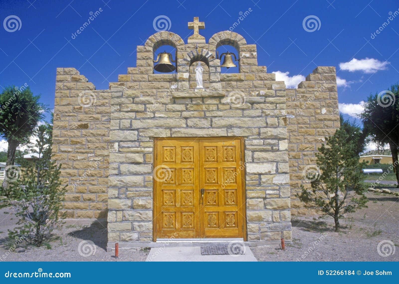 Igreja sagrado do coração e missão, Quemado, nanômetro