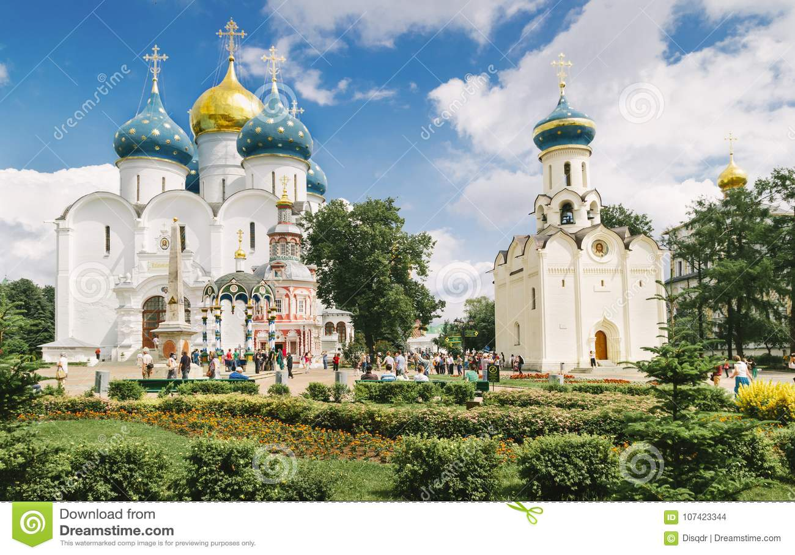 Igrejas em Sergiyev Posad Rússia