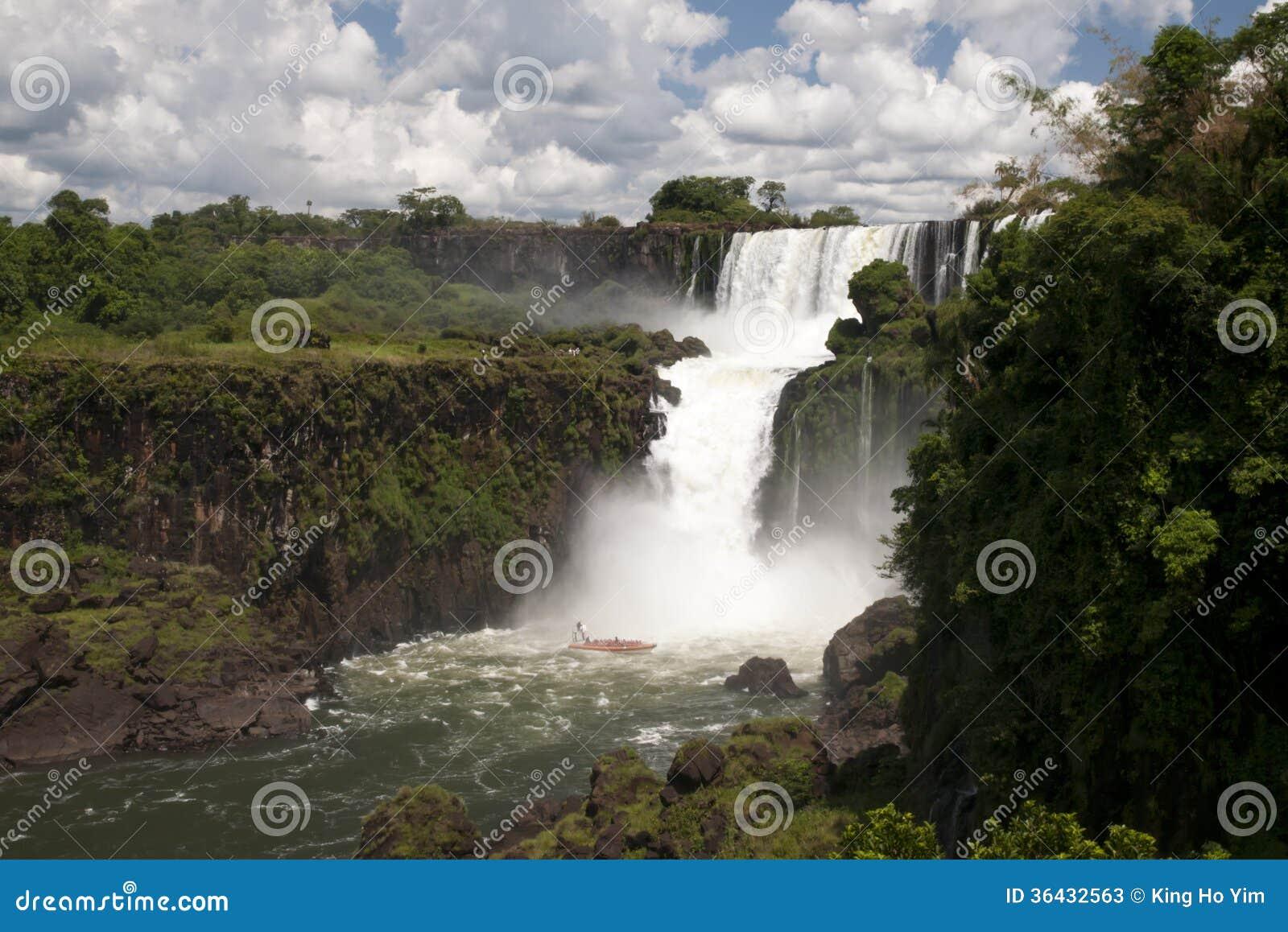 Iguazu spadki