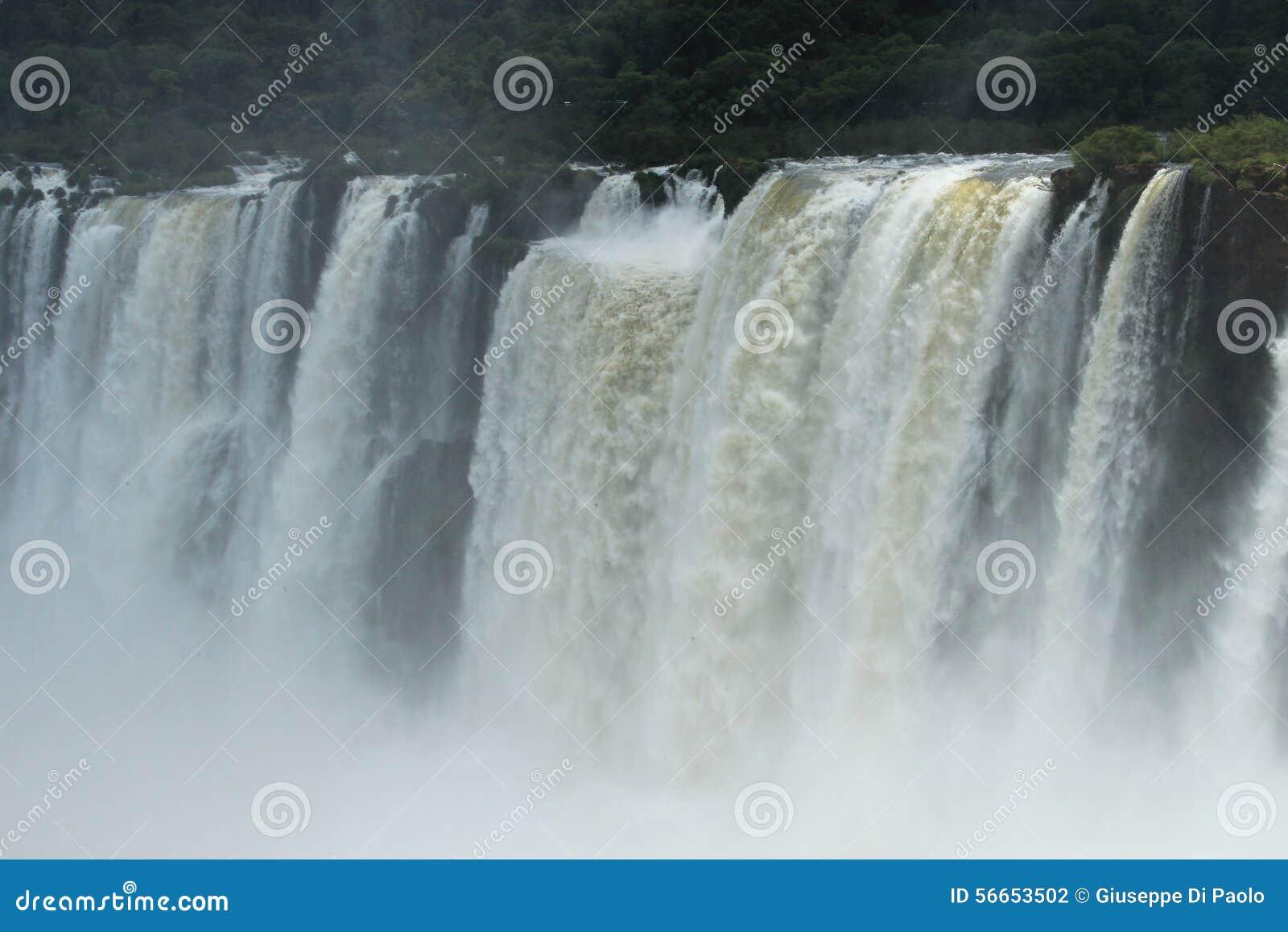 Iguazu valt - bekijk van de kant van Argentinië