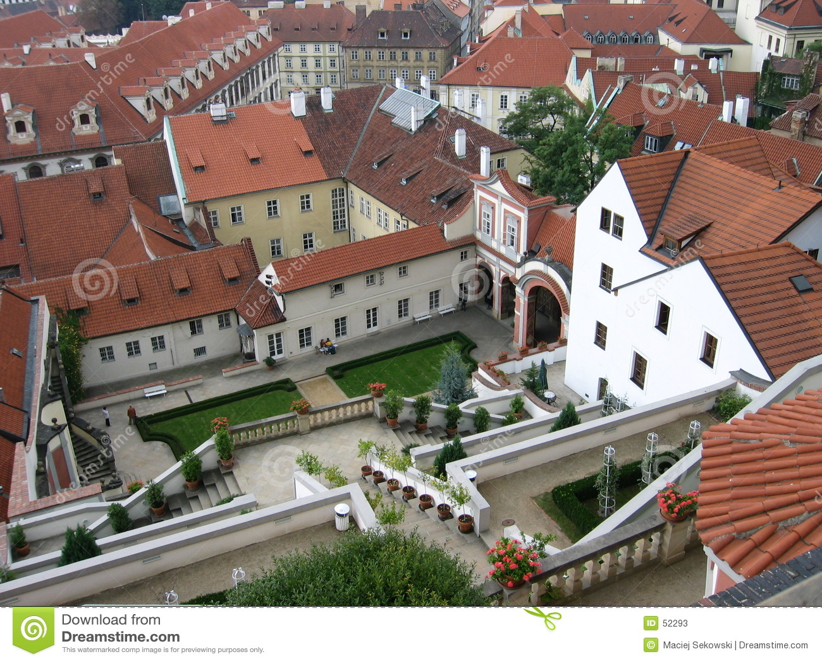 Ii布拉格屋顶