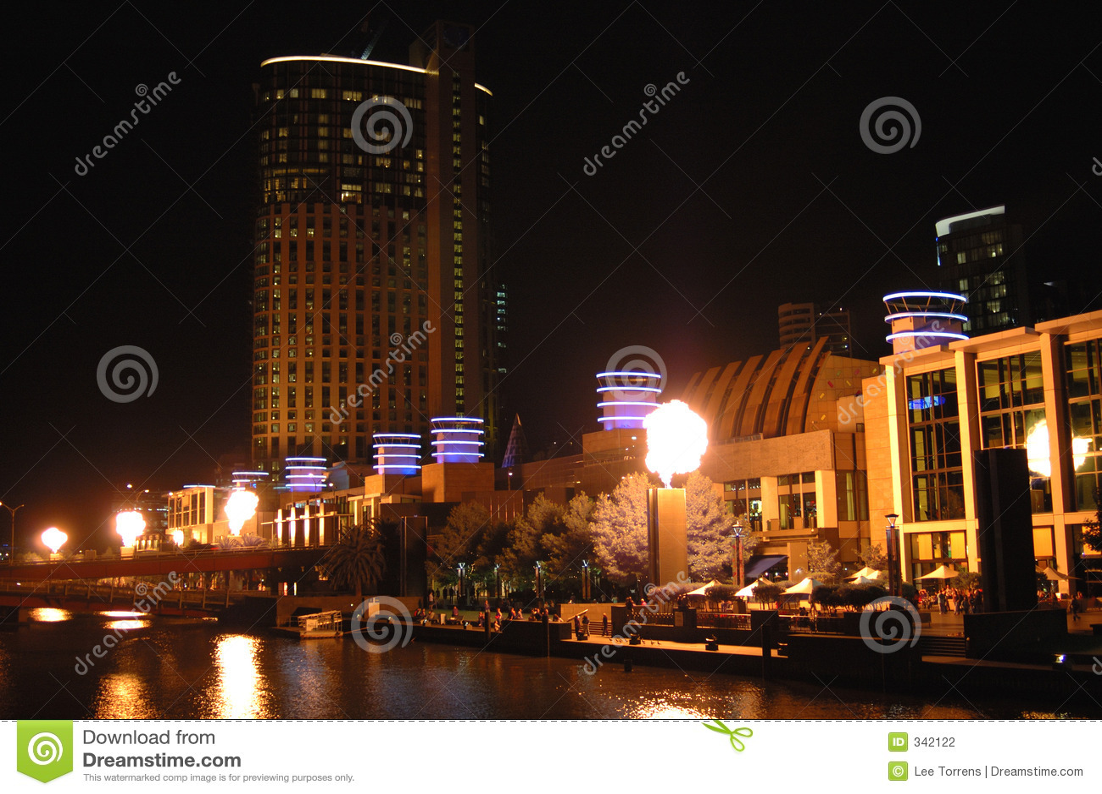 Iii miasta Melbourne noc