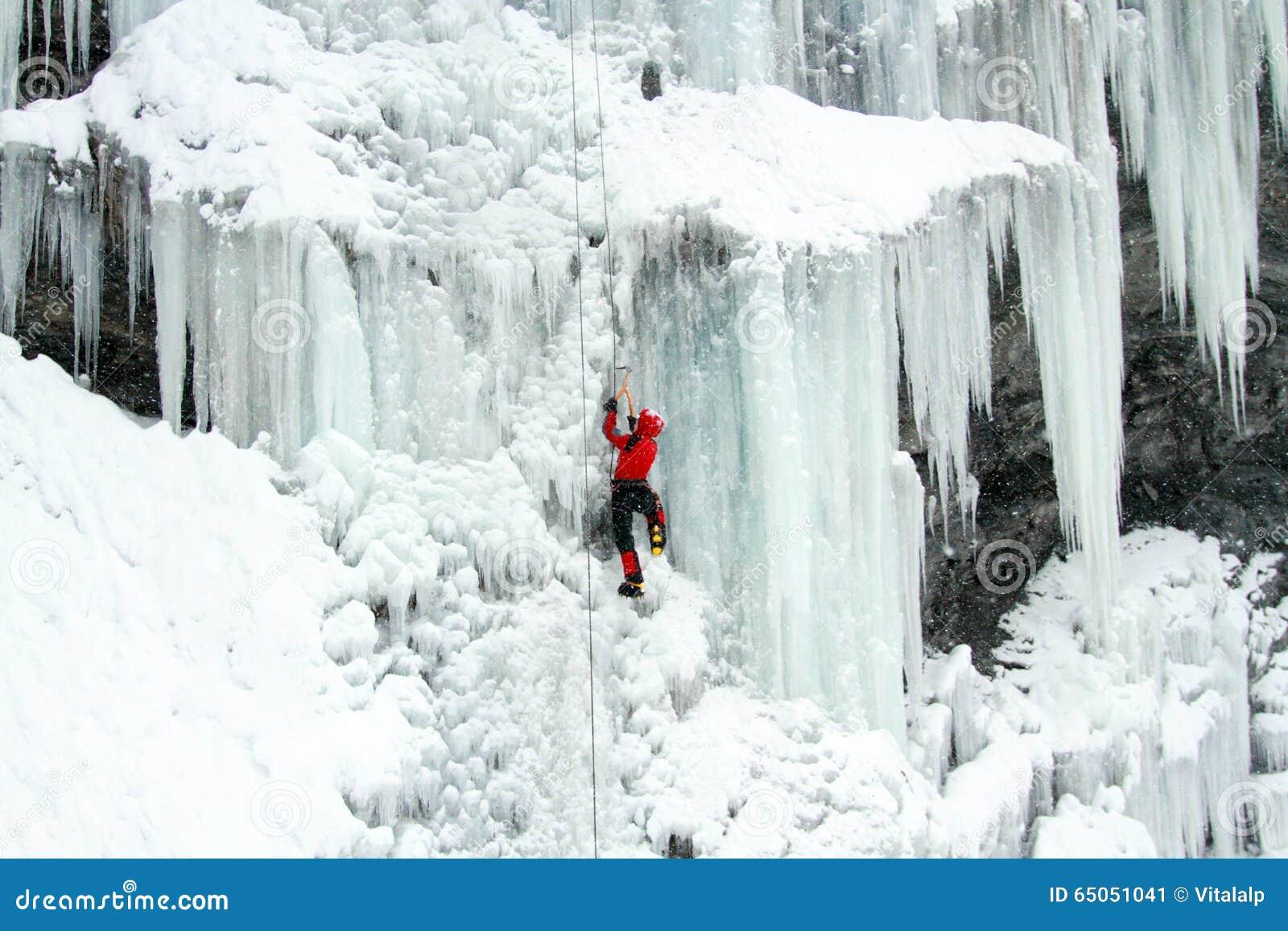 Ijs het Beklimmen