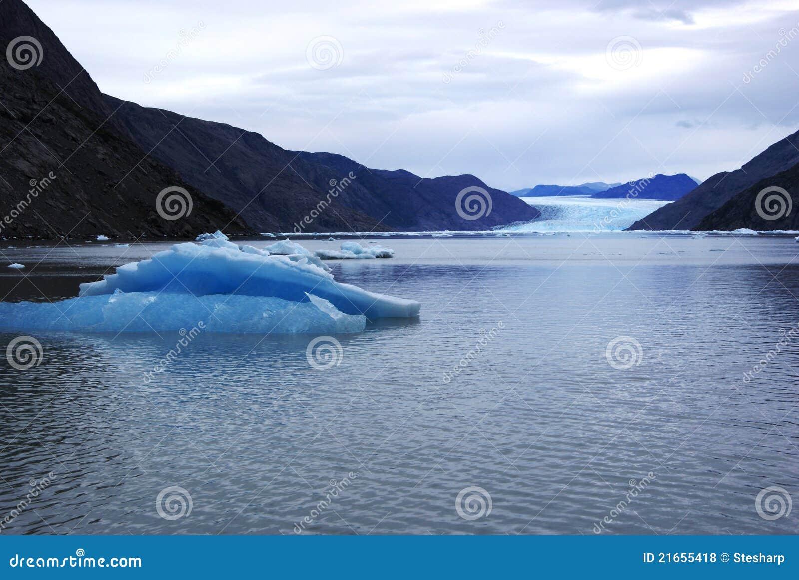 Ijsberg van een Gletsjer van Groenland