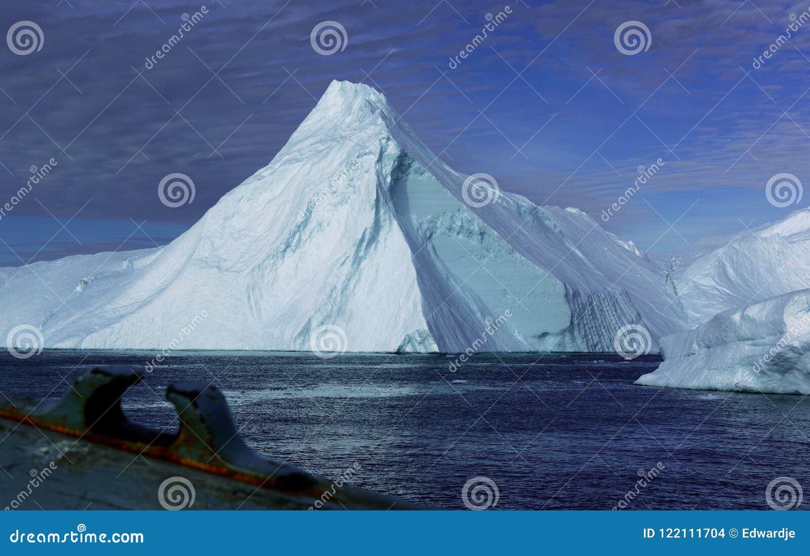 Ijsbergen in Groenland