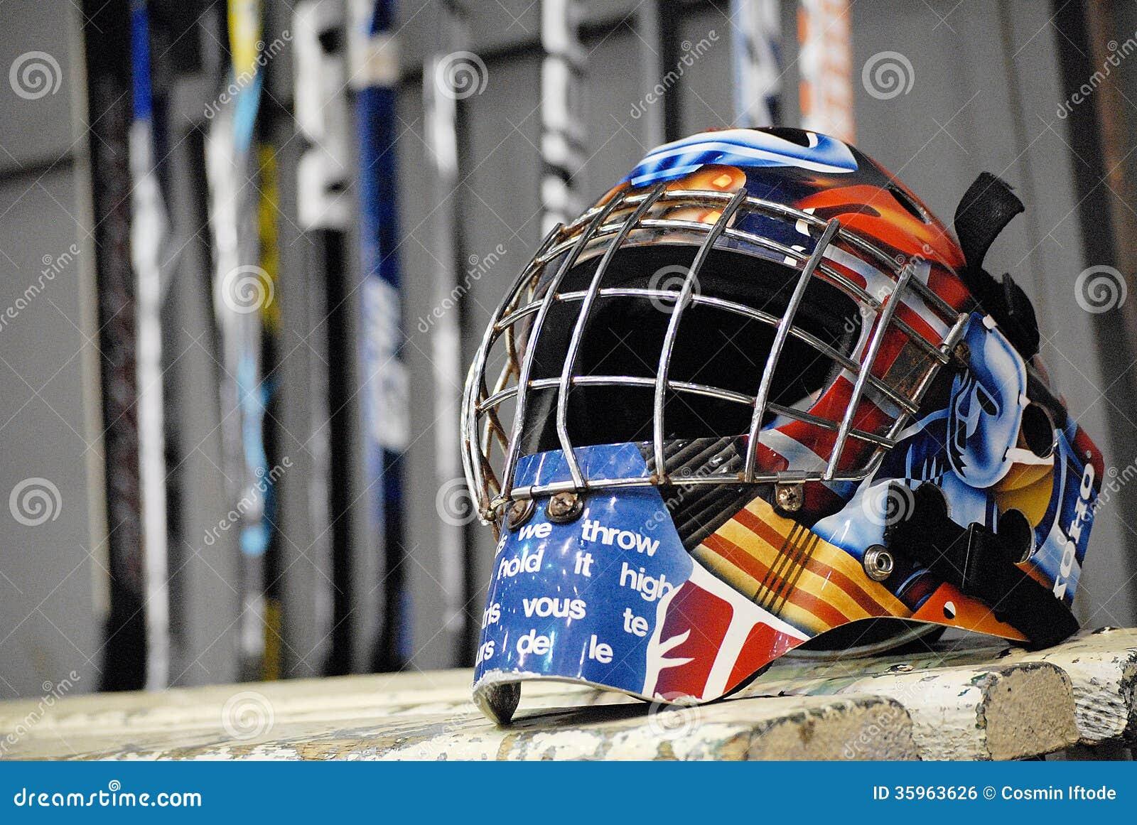 Ijshockeyhelm