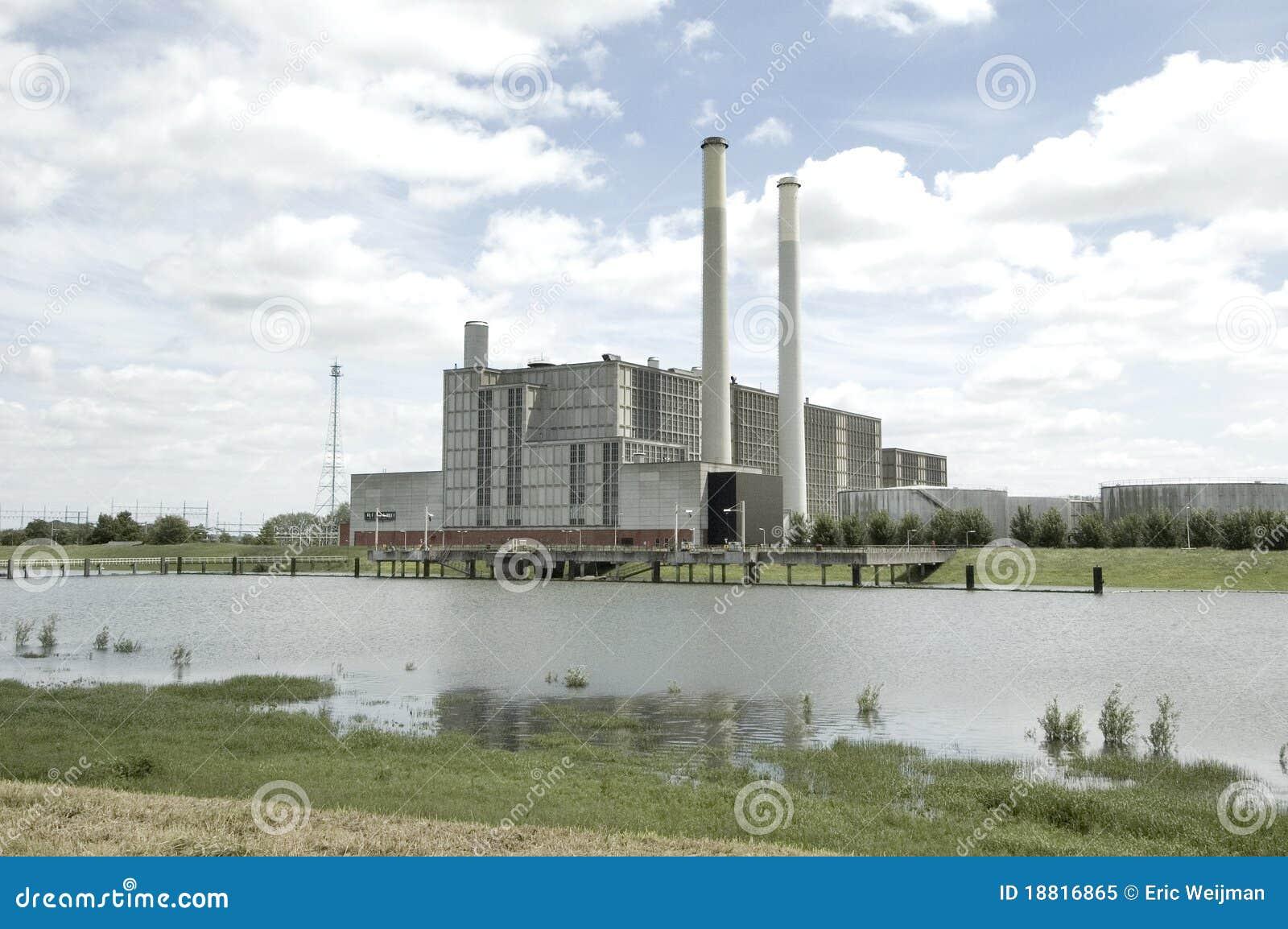 IJsselcentrale Zwolle Elektrizität