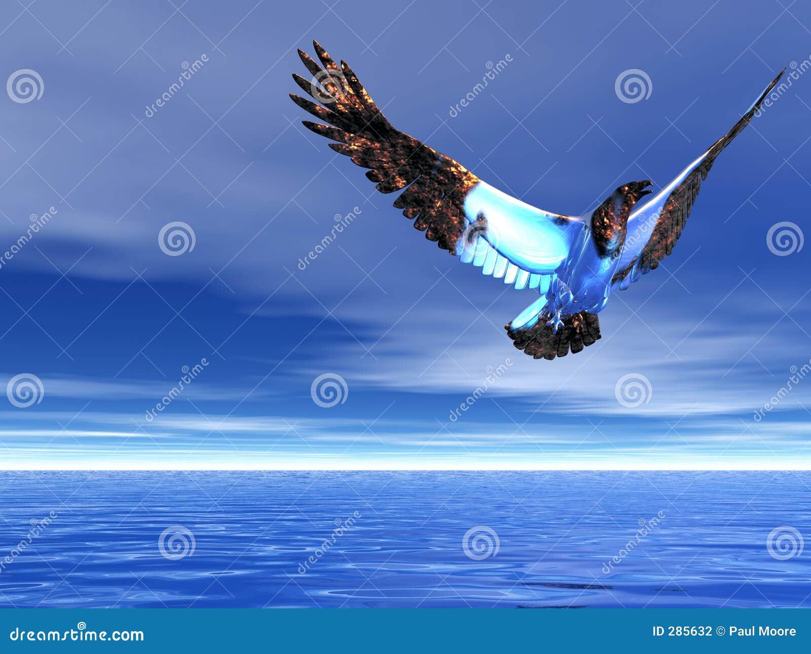 Ijzige adelaar