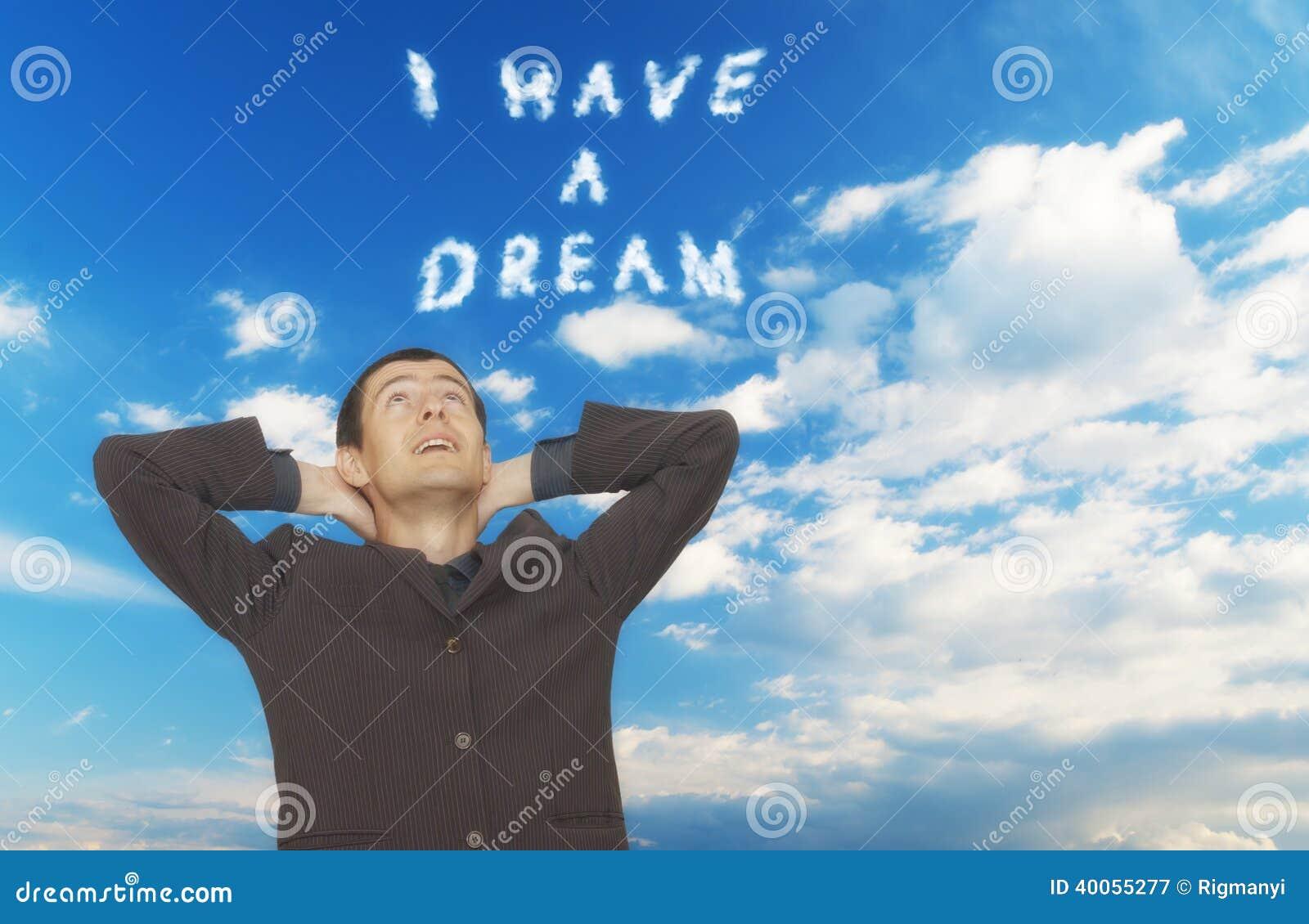 ik heb een droom stock afbeelding afbeelding bestaande uit metafoor 40055277. Black Bedroom Furniture Sets. Home Design Ideas