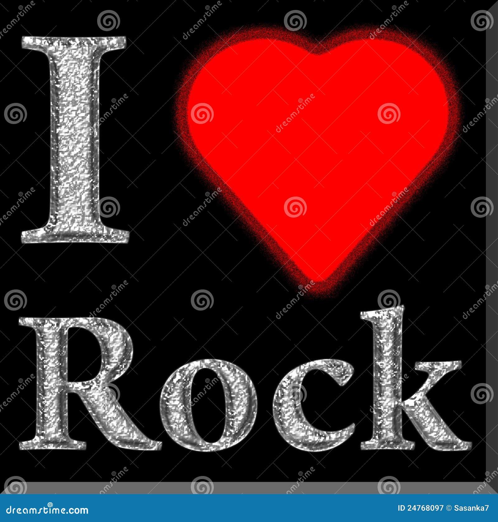 Ik houd van rots