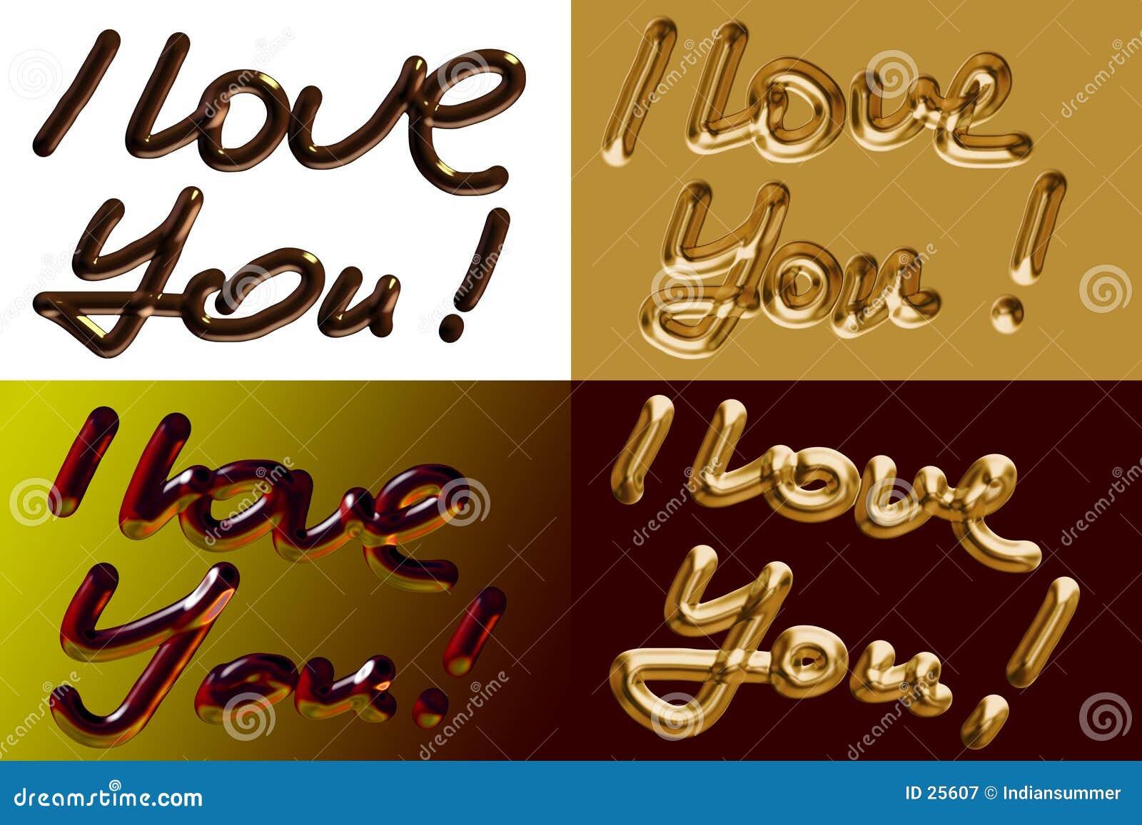 Ik houd van u!