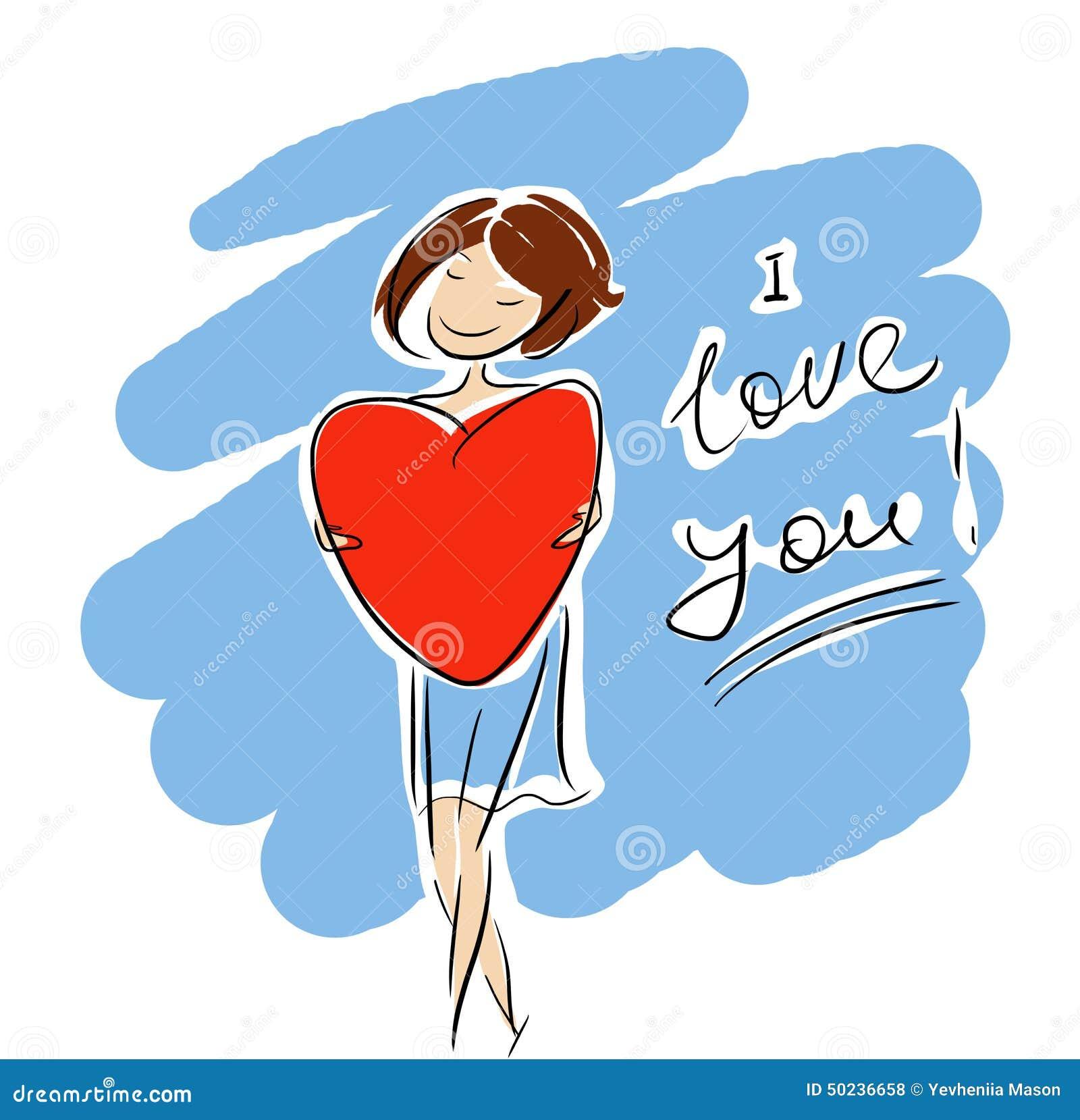 Ik houd van u meisje