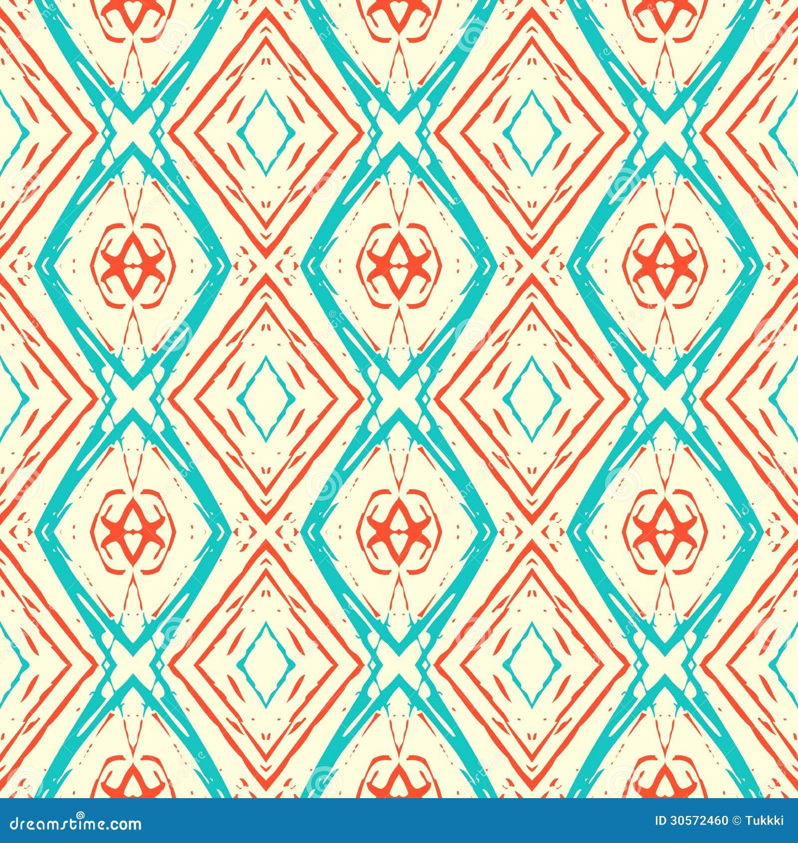 Ikat Pattern Stock Photo - Image: 30572460