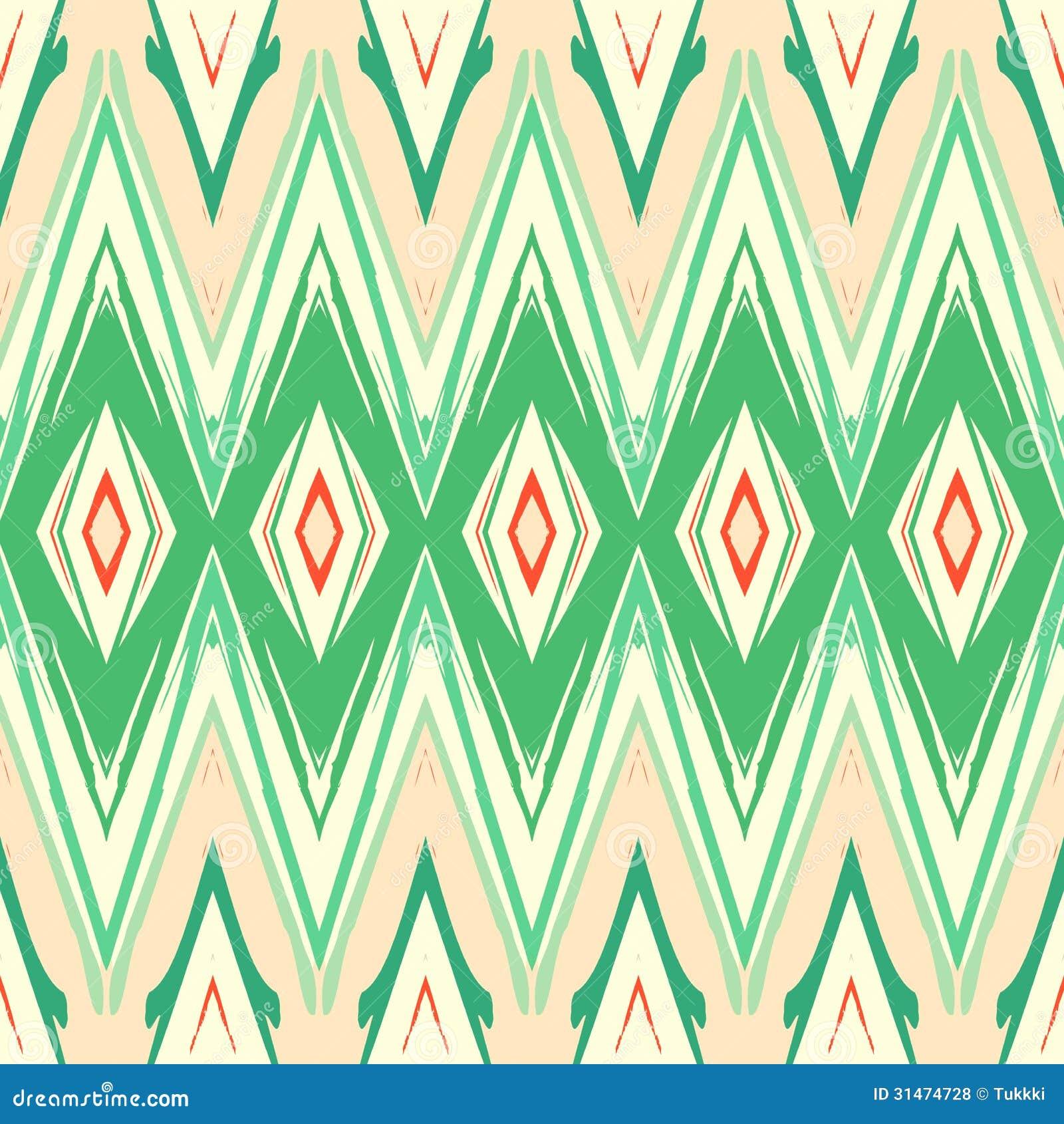 50 Modern Wallpaper Pattern: Ikat Pattern Stock Vector. Image Of Ethnic, Geometric