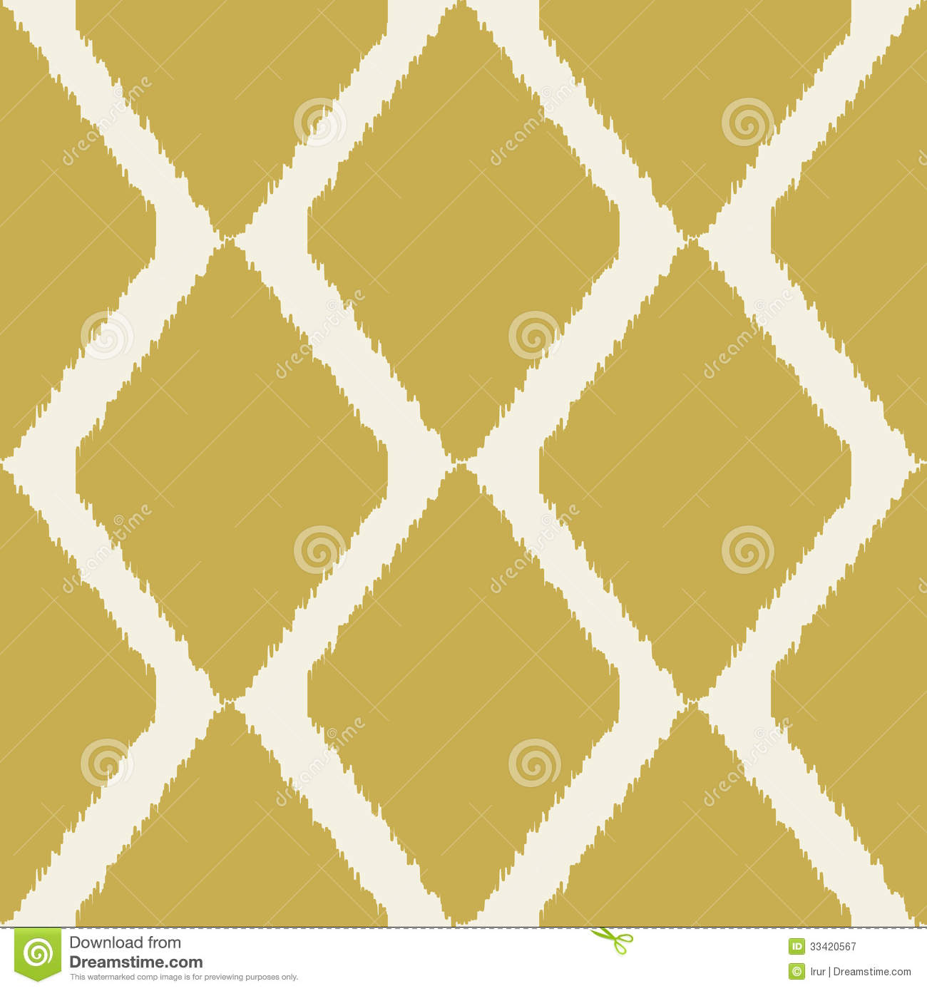 Ikat Seamless Modern Pattern For Home Decor Or Web Royalty Free Stock ...