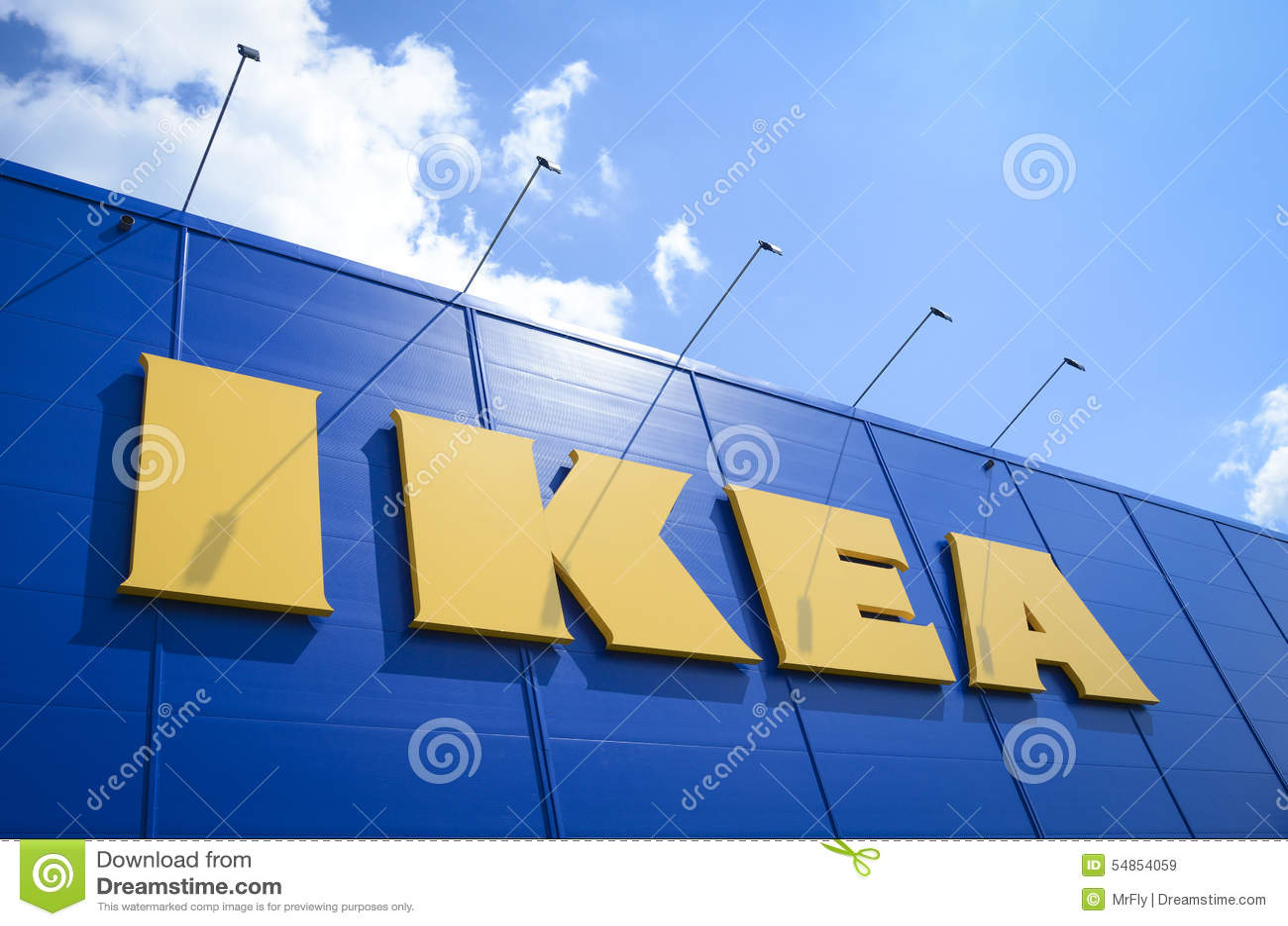 Ikea redaktionelles stockbild bild 54854059 for Schwedische wohnaccessoires