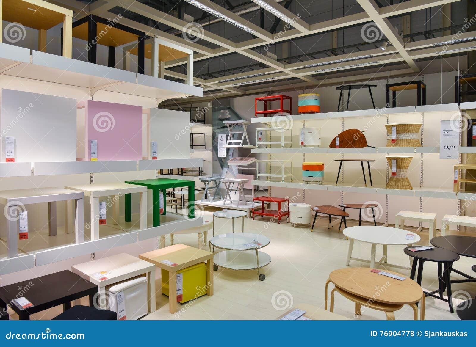 Ikea Del Interior De La Tienda De Muebles Foto De Archivo  # Muebles Tipo Ikea