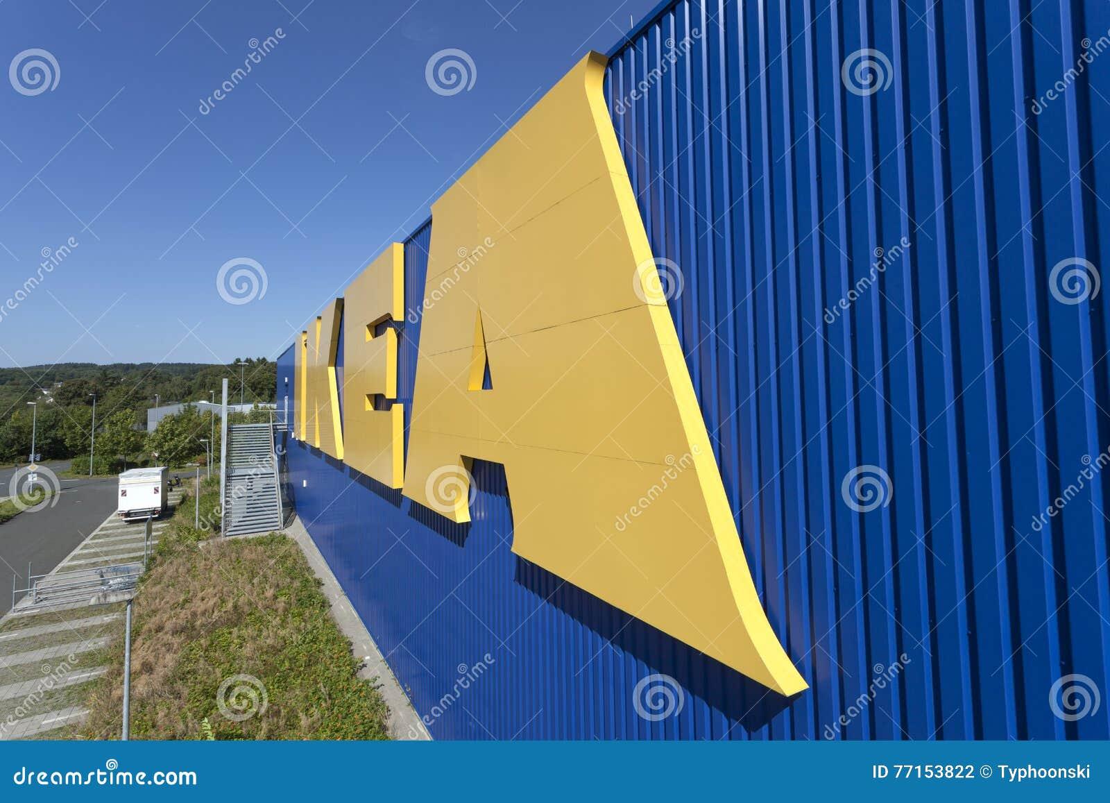 IKEA entreposé dans Siegen, Allemagne