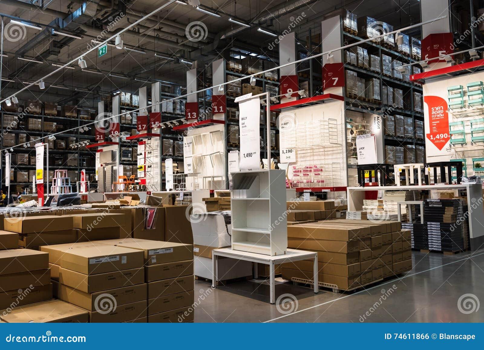 Ikea Furniture Store Thailand Editorial Photo Image 74611866